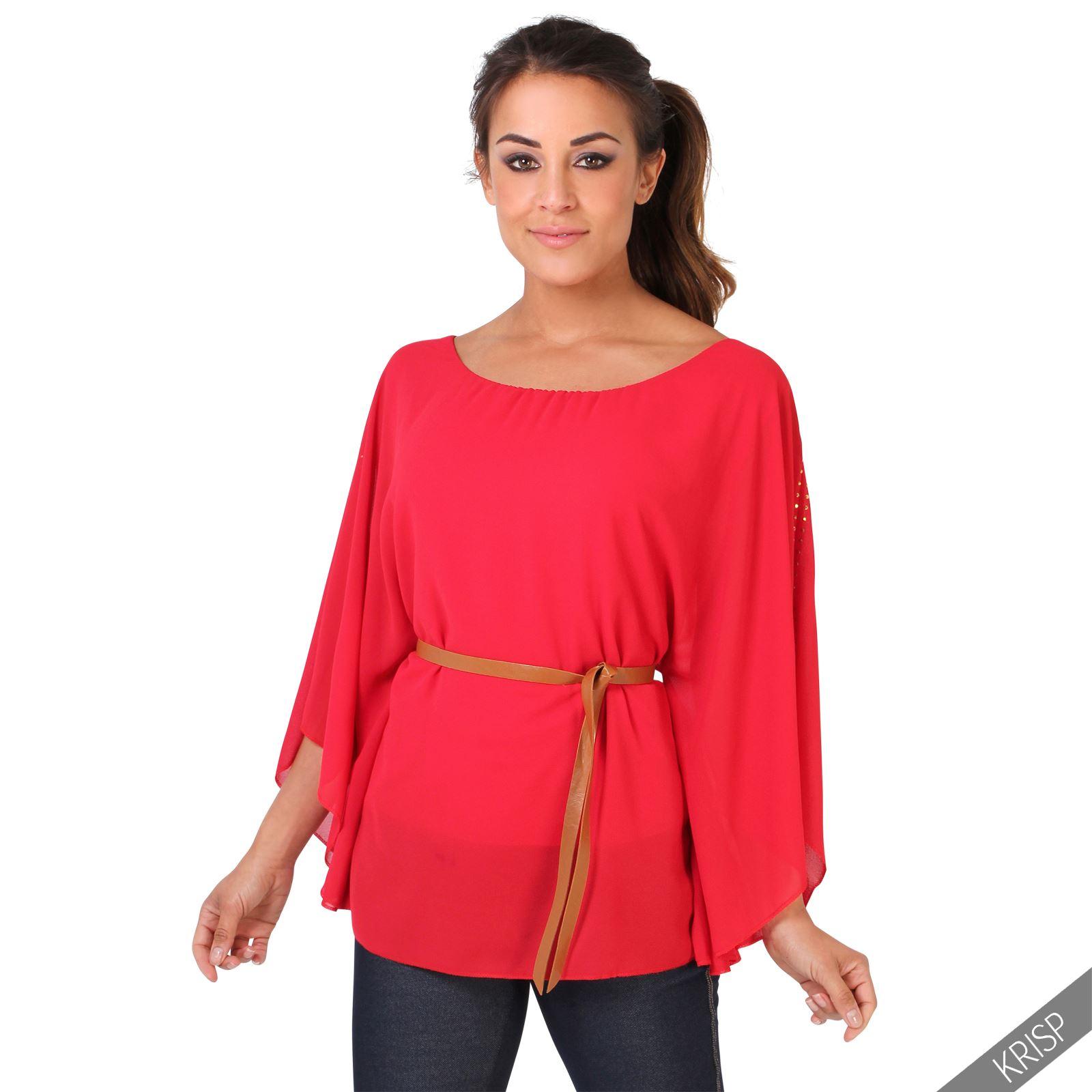 Women Sexy Red Lace Chiffon Bodycon Dress Top Blouse ...