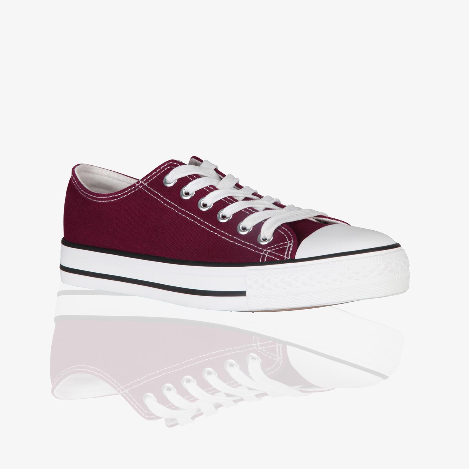 Zapatillas-Mujer-Casuales-Deportiva-Barata-Lona-Moda-Originales-Outlet-Tela-Moda miniatura 13
