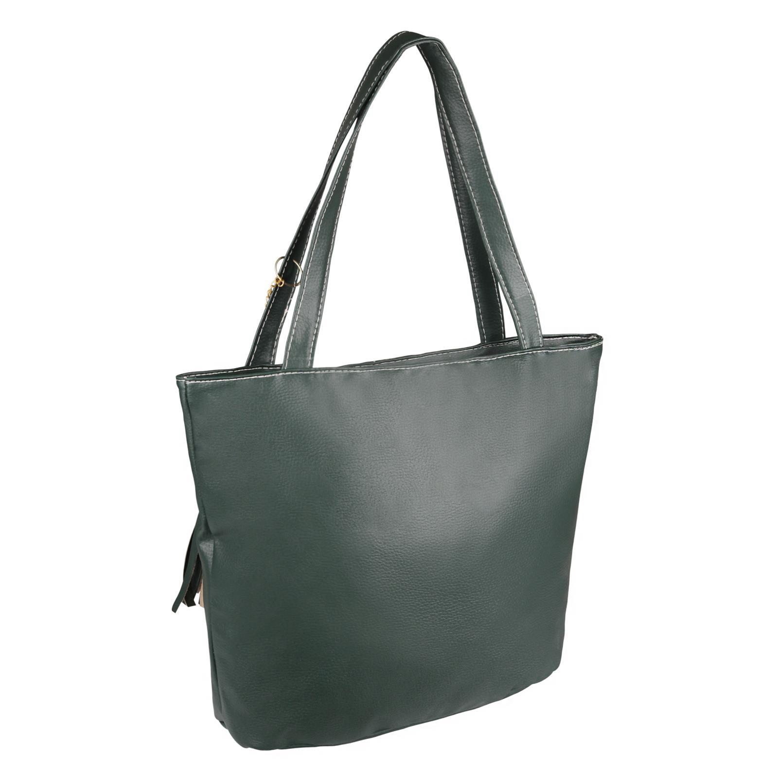 Animal-Print-Handbag-PU-Leather-Shoulder-Bag-Work-Office-Tote-Shopper-Fashion thumbnail 10
