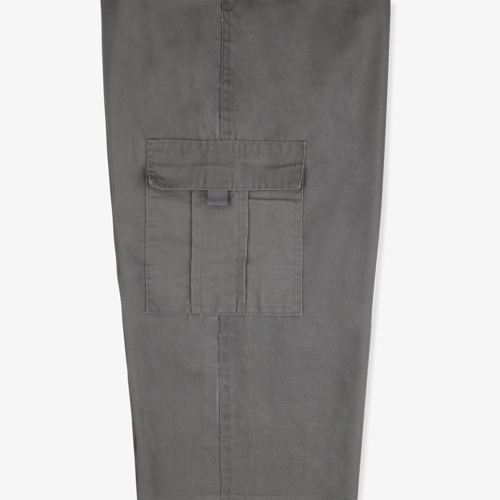 Pantalon-Homme-Cargo-Militaire-Ample-Poche-Grande-Taille-Elastique-Travail miniature 8