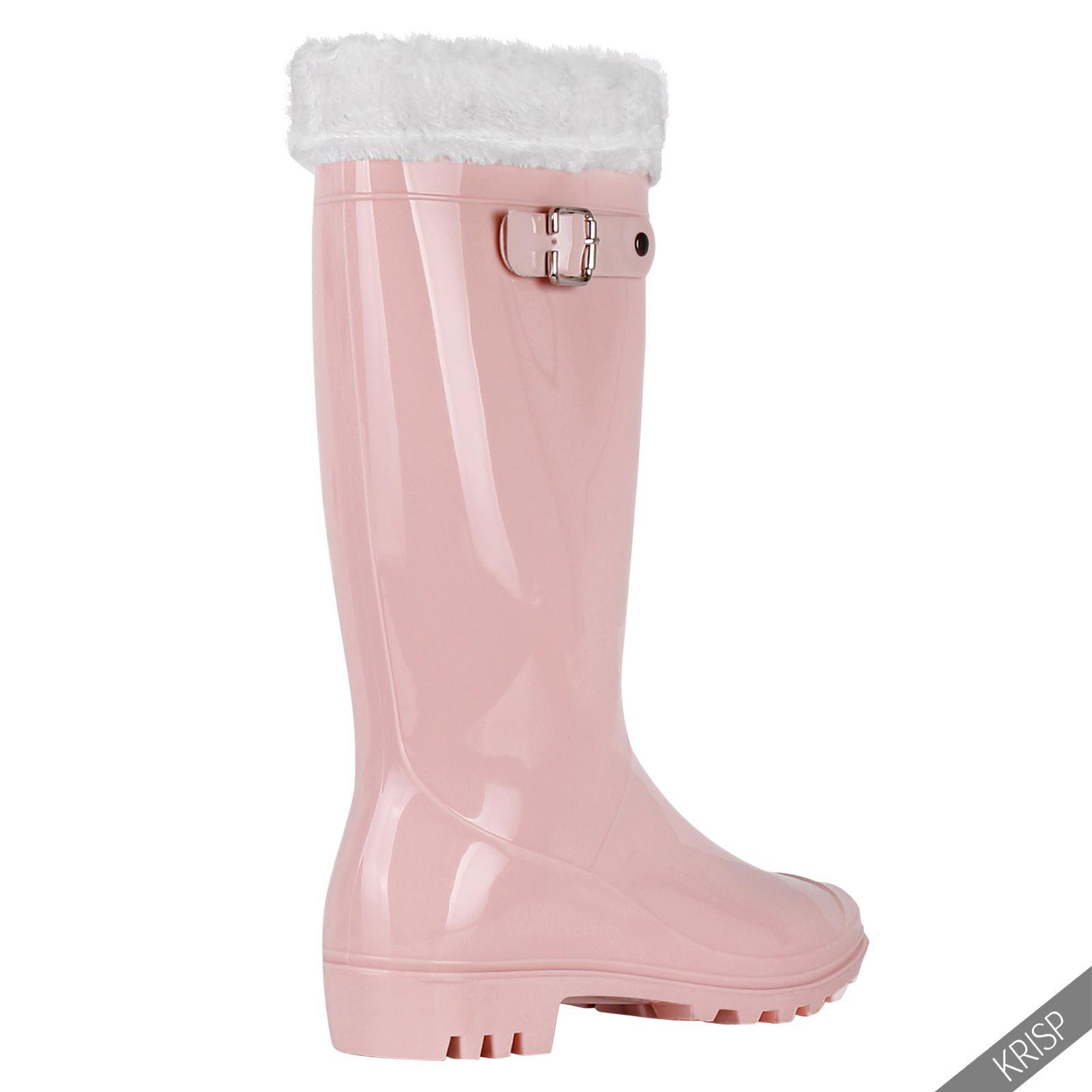 Botas-Agua-Mujer-Barata-Original-Botines-Moda-Comodas-Calzado-Elastico-Juveniles miniatura 42