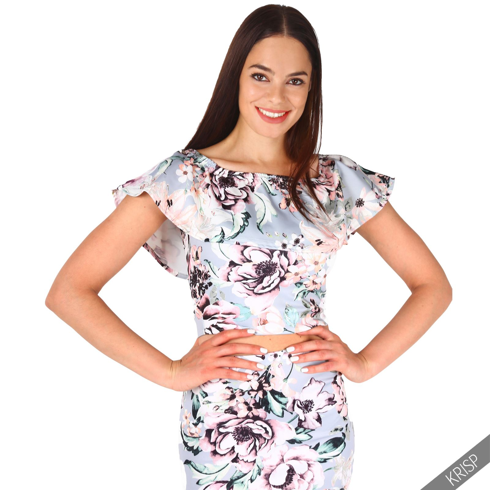 Conjunto-Crop-Top-Mujer-Corto-Falda-Tubo-Ajustada-Verano-2017-Tallas-Grandes