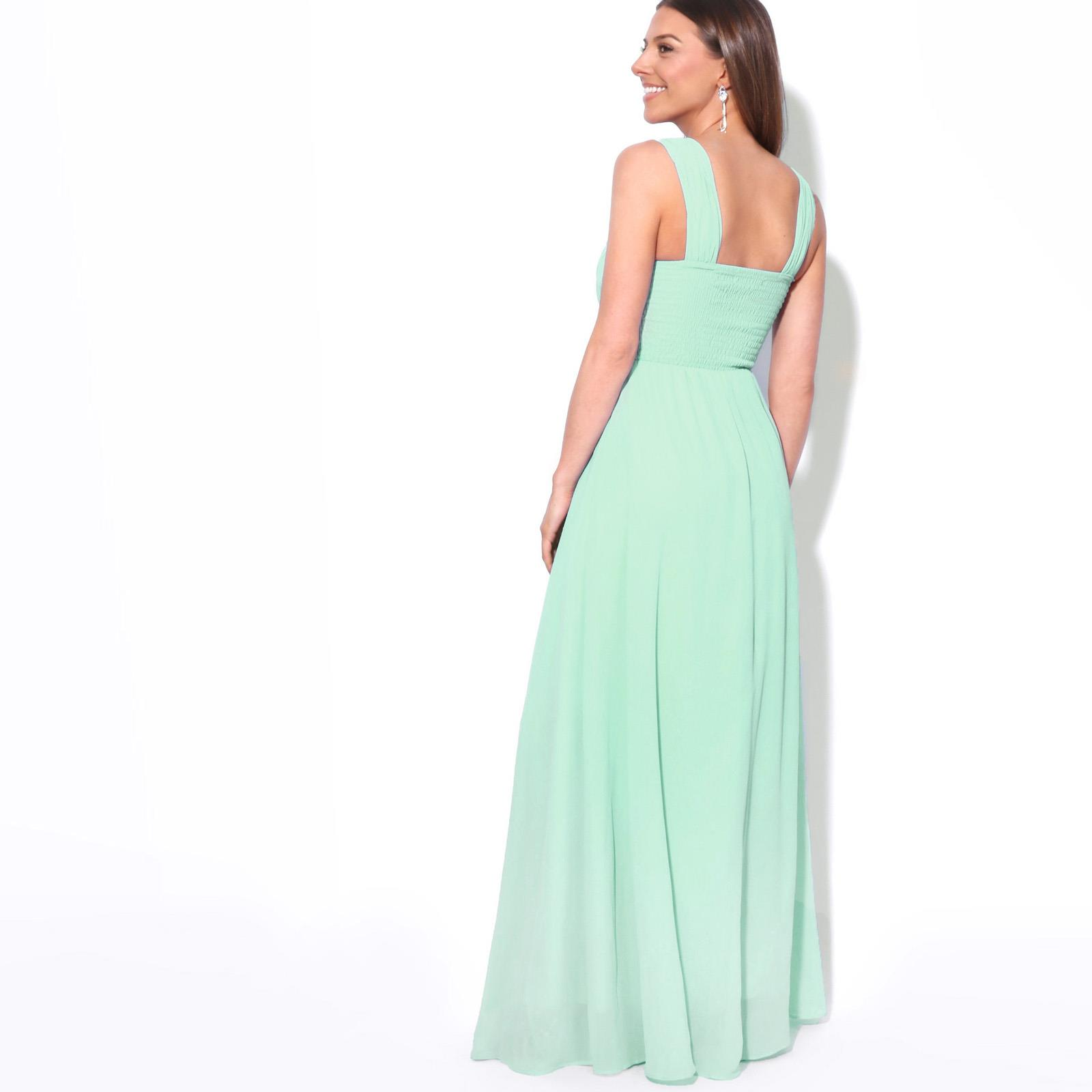 Womens-Formal-Evening-Wedding-Maxi-Prom-Dress-Long-On-Off-Shoulder-Ball-Gown thumbnail 34