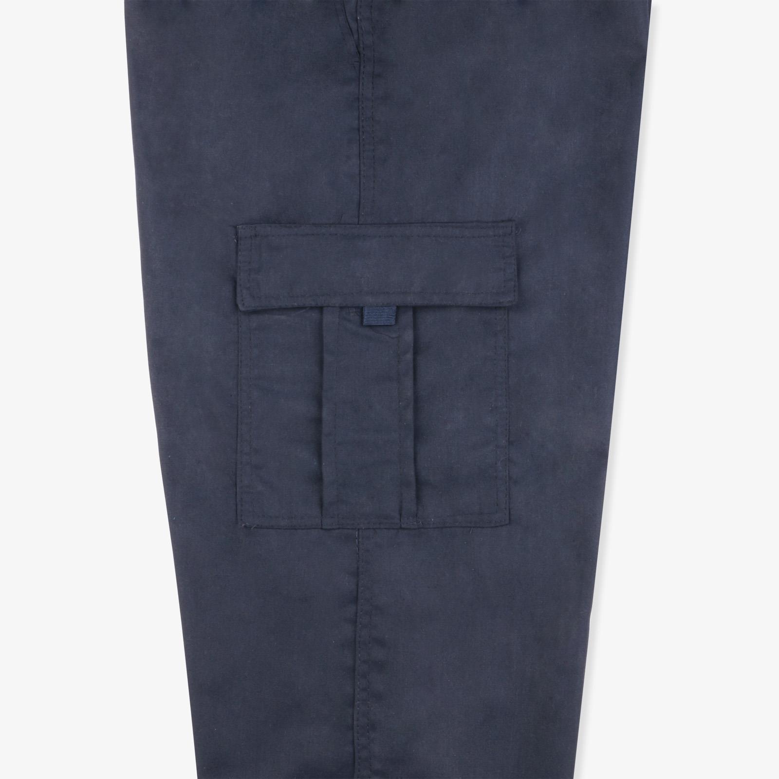 Pantalon-Homme-Cargo-Militaire-Ample-Poche-Grande-Taille-Elastique-Travail miniature 4
