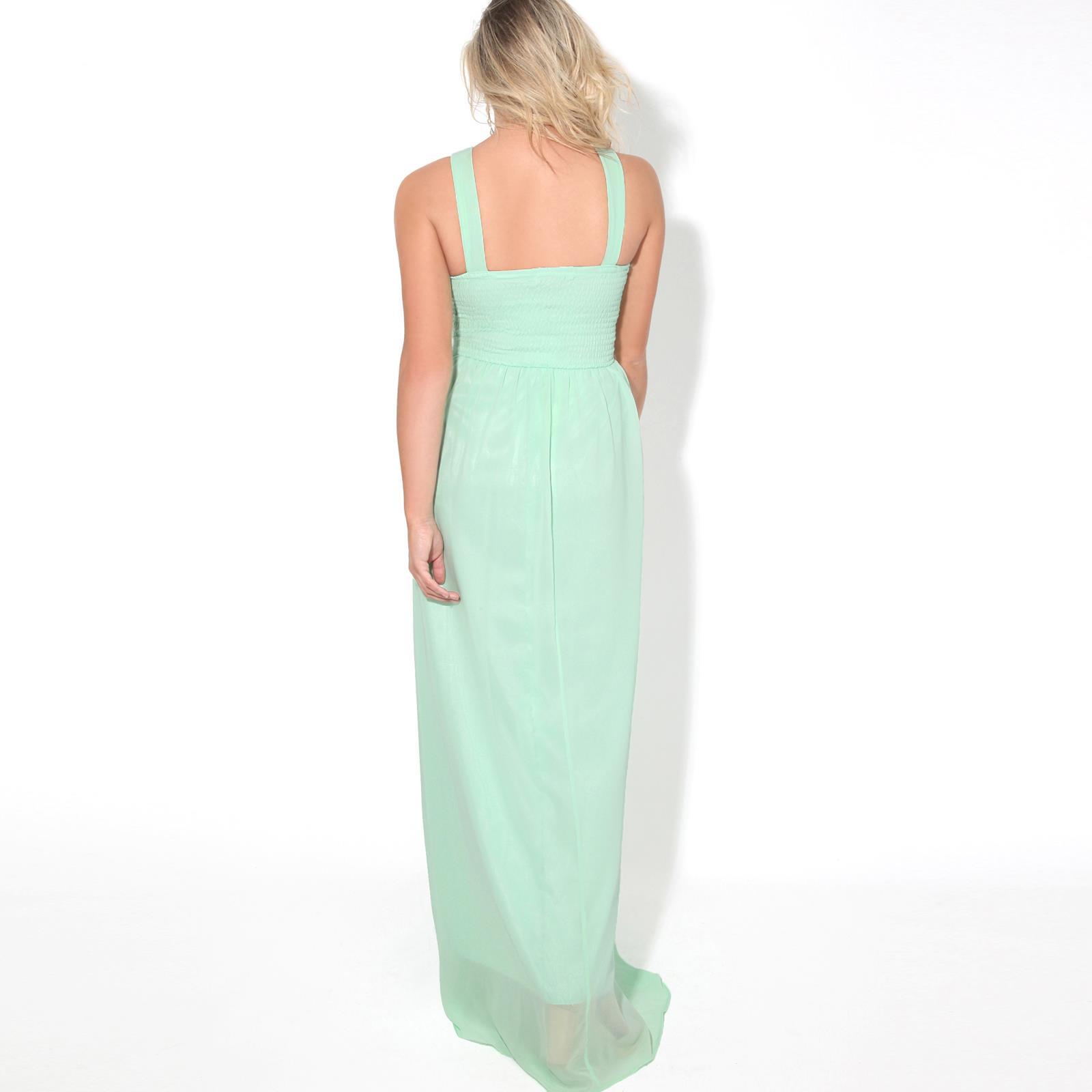 Women-Ladies-Long-Cocktail-Wedding-Bridesmaid-Evening-Maxi-Dress-Formal-Gown thumbnail 15