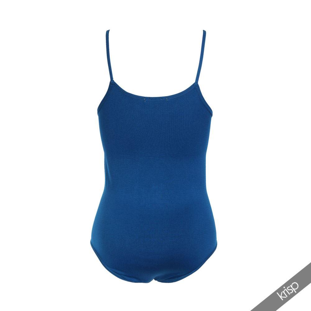 Body-Mujer-Basico-Invierno-Cuello-Barato-Top-Camiseta-Ajustado-Tirantes-Elastico miniatura 9