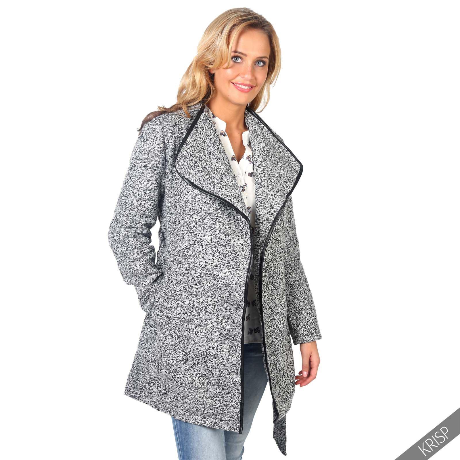 Fleece lined jacket women