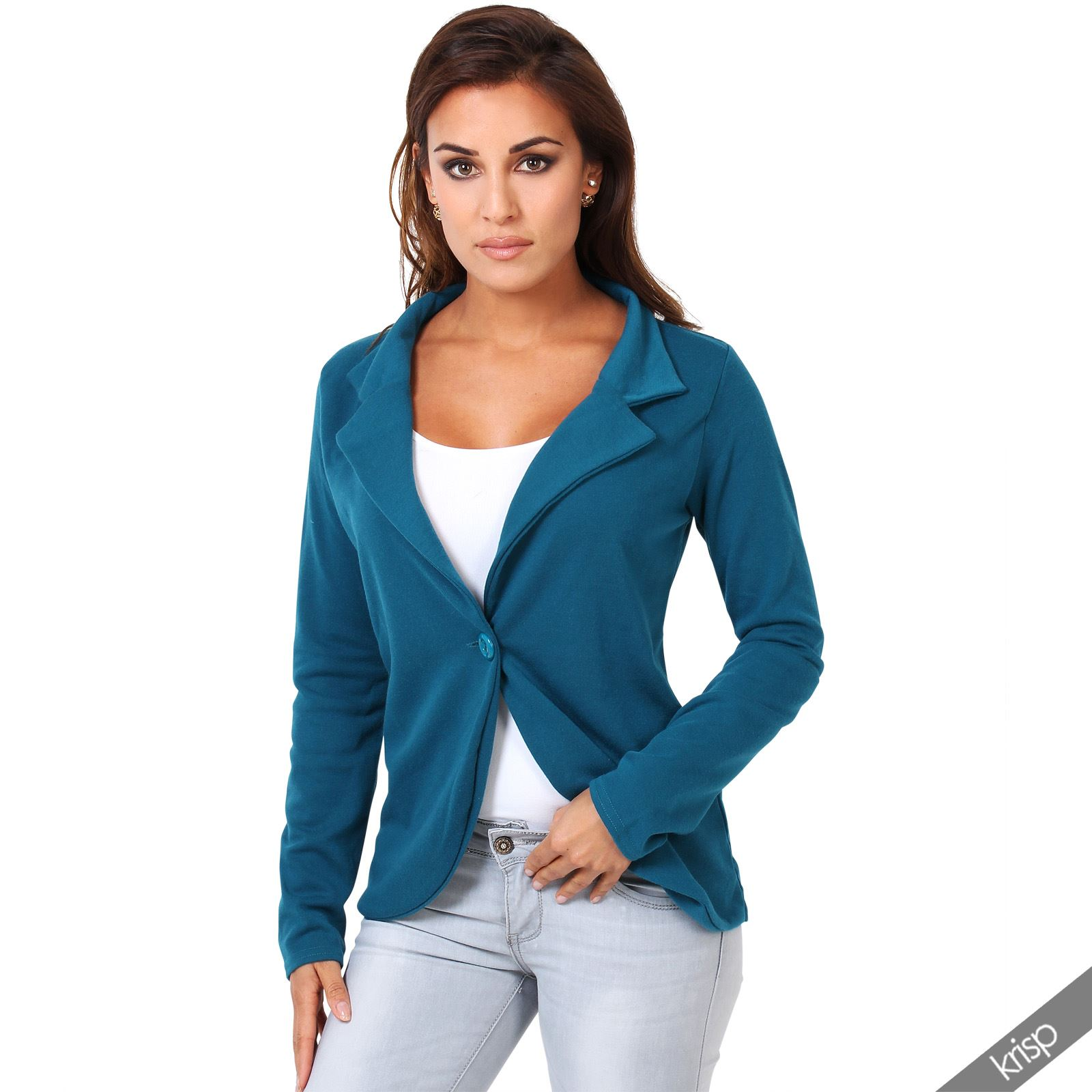 Blazers for women are usually worn in a business or professional setting; the sharply defined cuts and seams of a womens blazer has the effect of establishing her as a put-together person. A ladies blazer can be worn at one's workplace, for meetings, or even just out running errands.