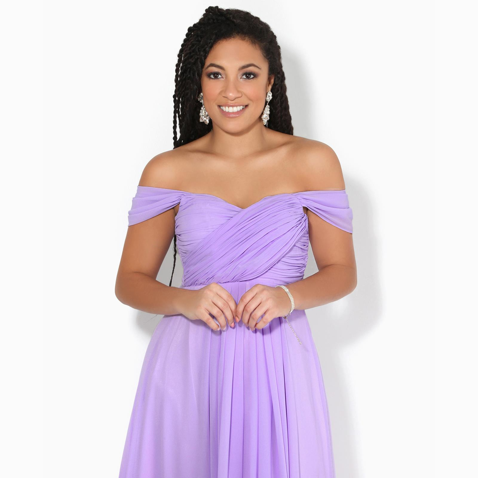 Womens-Formal-Evening-Wedding-Maxi-Prom-Dress-Long-On-Off-Shoulder-Ball-Gown thumbnail 28