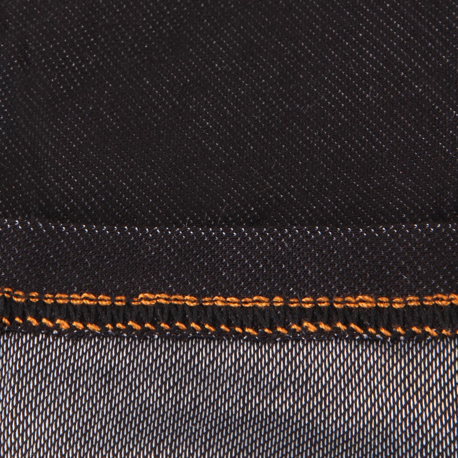 Jegging-Taille-Haute-Femme-Jean-Stretch-Legging-Noir-Bleu-Poche-Extensible-Mode miniature 7