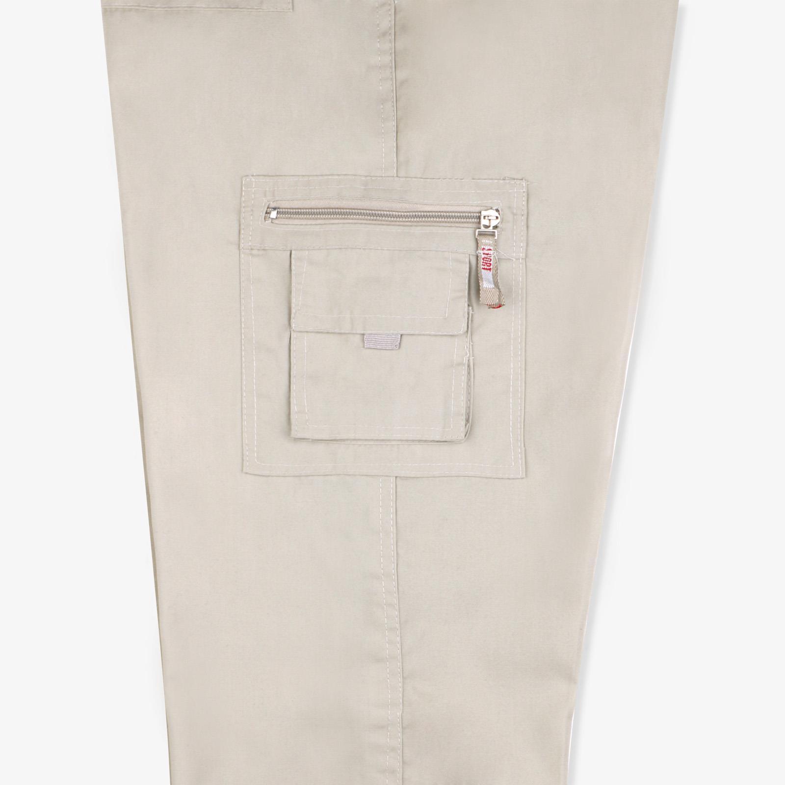 Pantalon-Homme-Cargo-Militaire-Ample-Poche-Grande-Taille-Elastique-Travail miniature 15