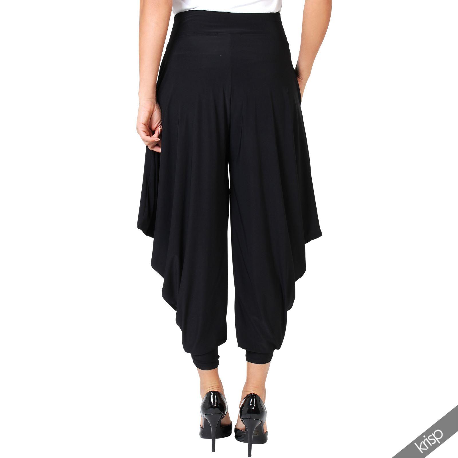 Femme pantalon harem aladin sarouel ample yoga d tente grande taille gypsy ebay - Pantalon ample femme ...