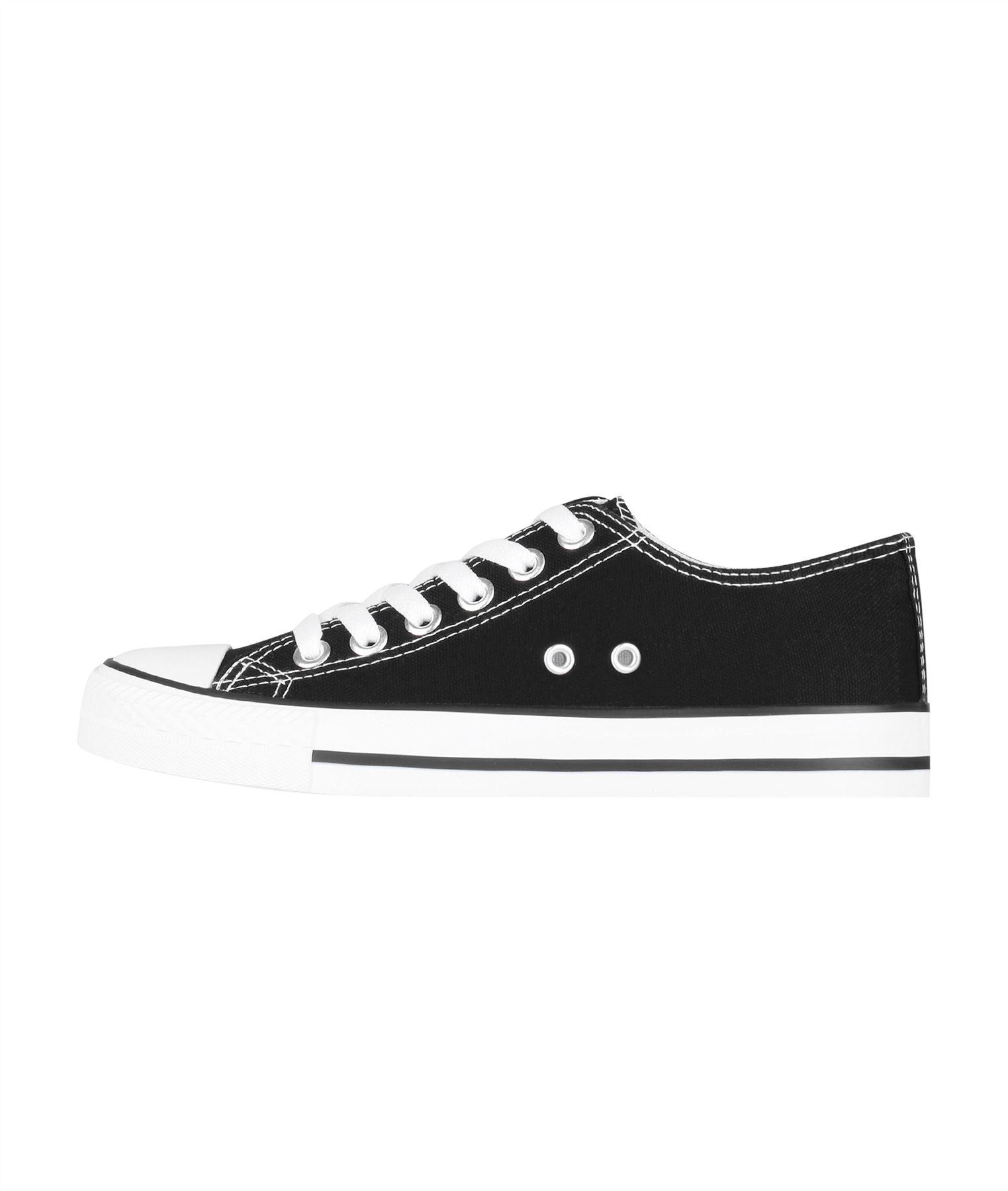 Zapatillas-Mujer-Casuales-Deportiva-Barata-Lona-Moda-Originales-Outlet-Tela-Moda miniatura 35