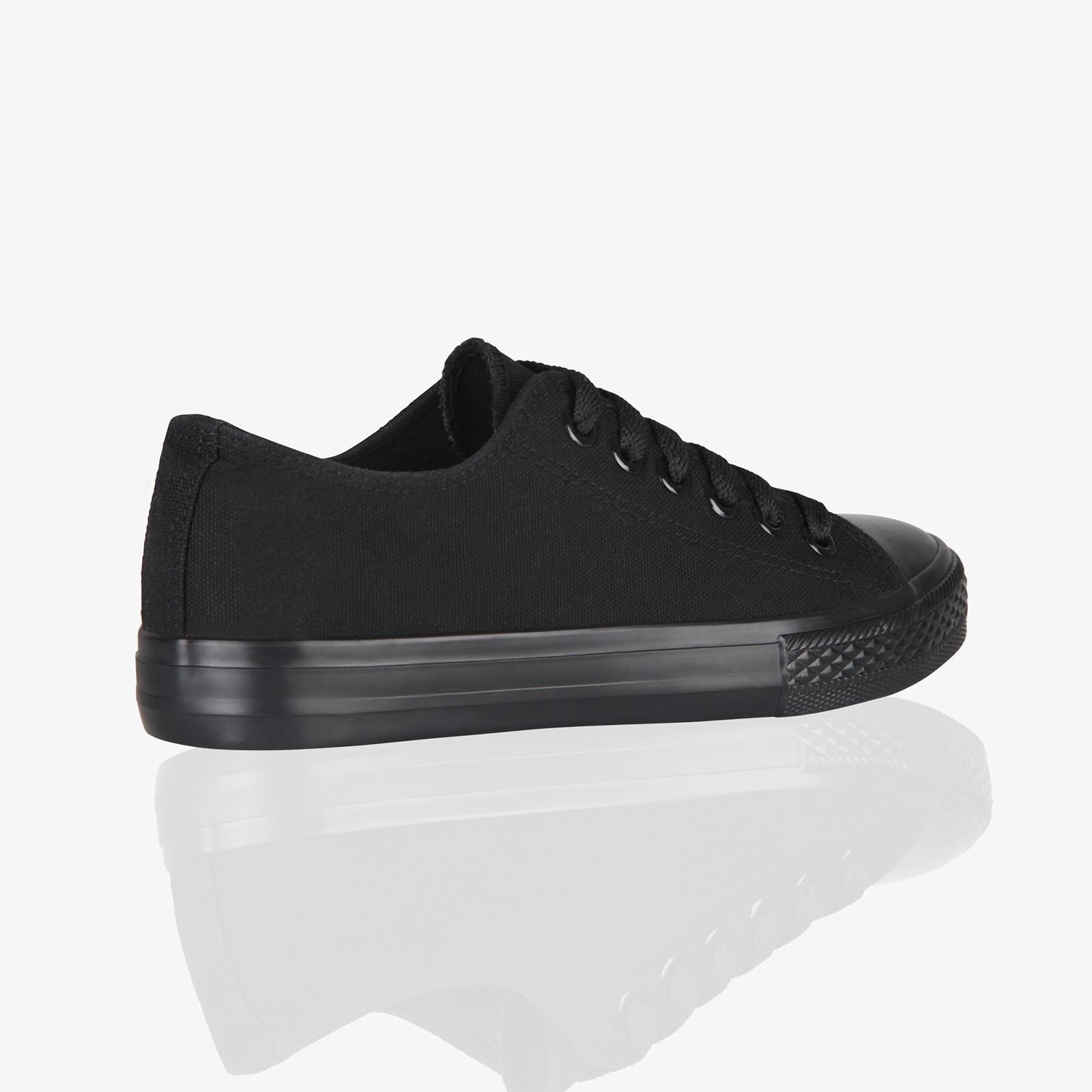 Zapatillas-Mujer-Casuales-Deportiva-Barata-Lona-Moda-Originales-Outlet-Tela-Moda miniatura 31