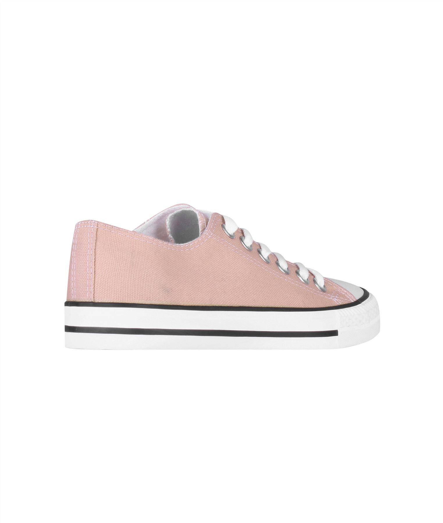 Zapatillas-Mujer-Casuales-Deportiva-Barata-Lona-Moda-Originales-Outlet-Tela-Moda miniatura 44