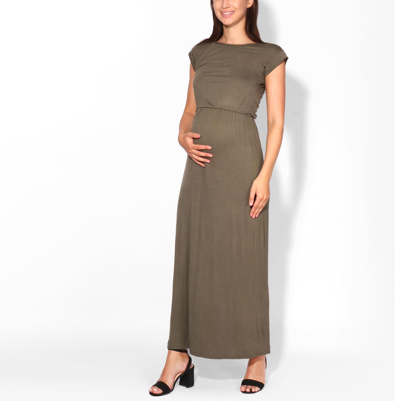 3170528b05d1 Krisp Ladies Oversized Short Sleeve Long Loose Stretch Maxi Jersey ...