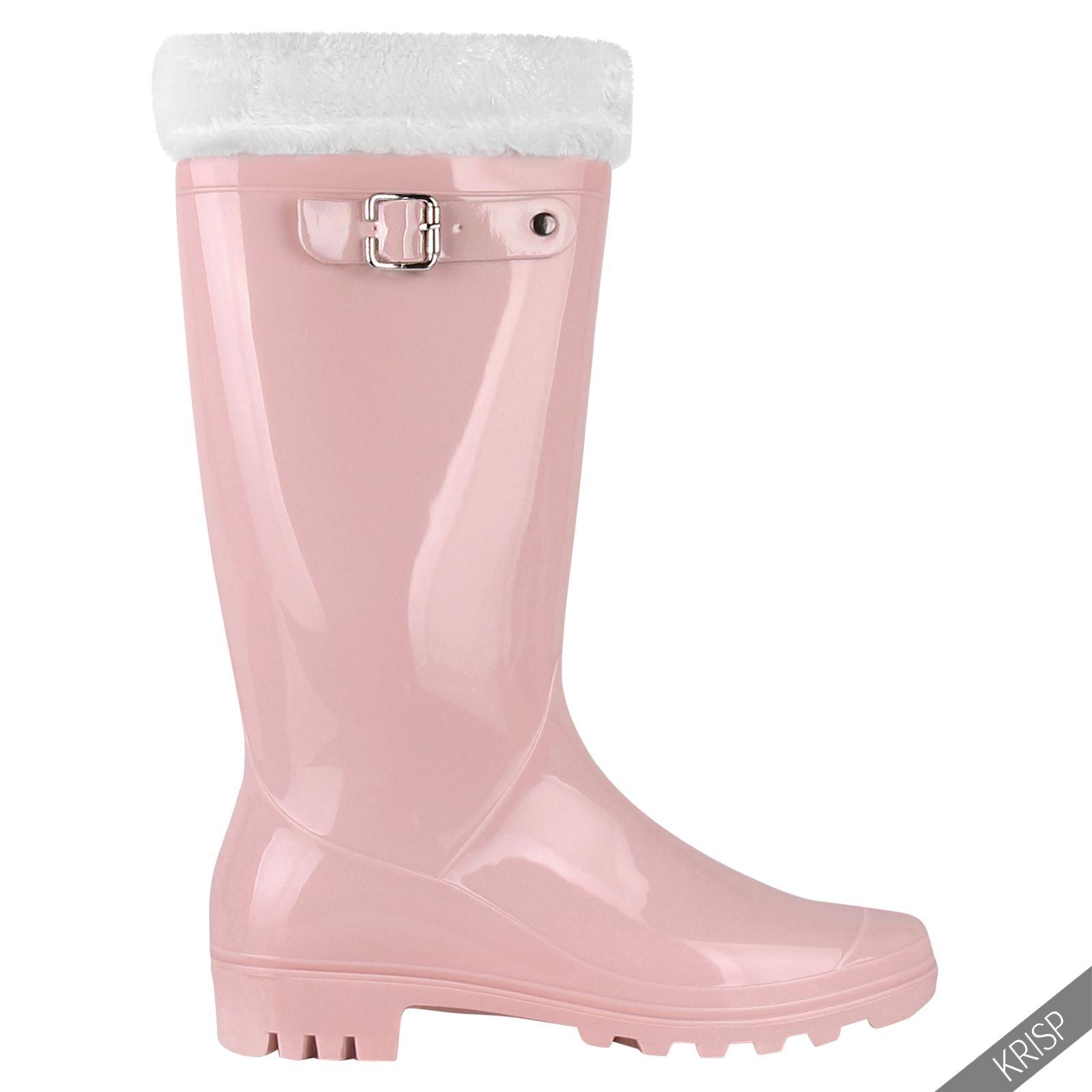 Botas-Agua-Mujer-Barata-Original-Botines-Moda-Comodas-Calzado-Elastico-Juveniles miniatura 40
