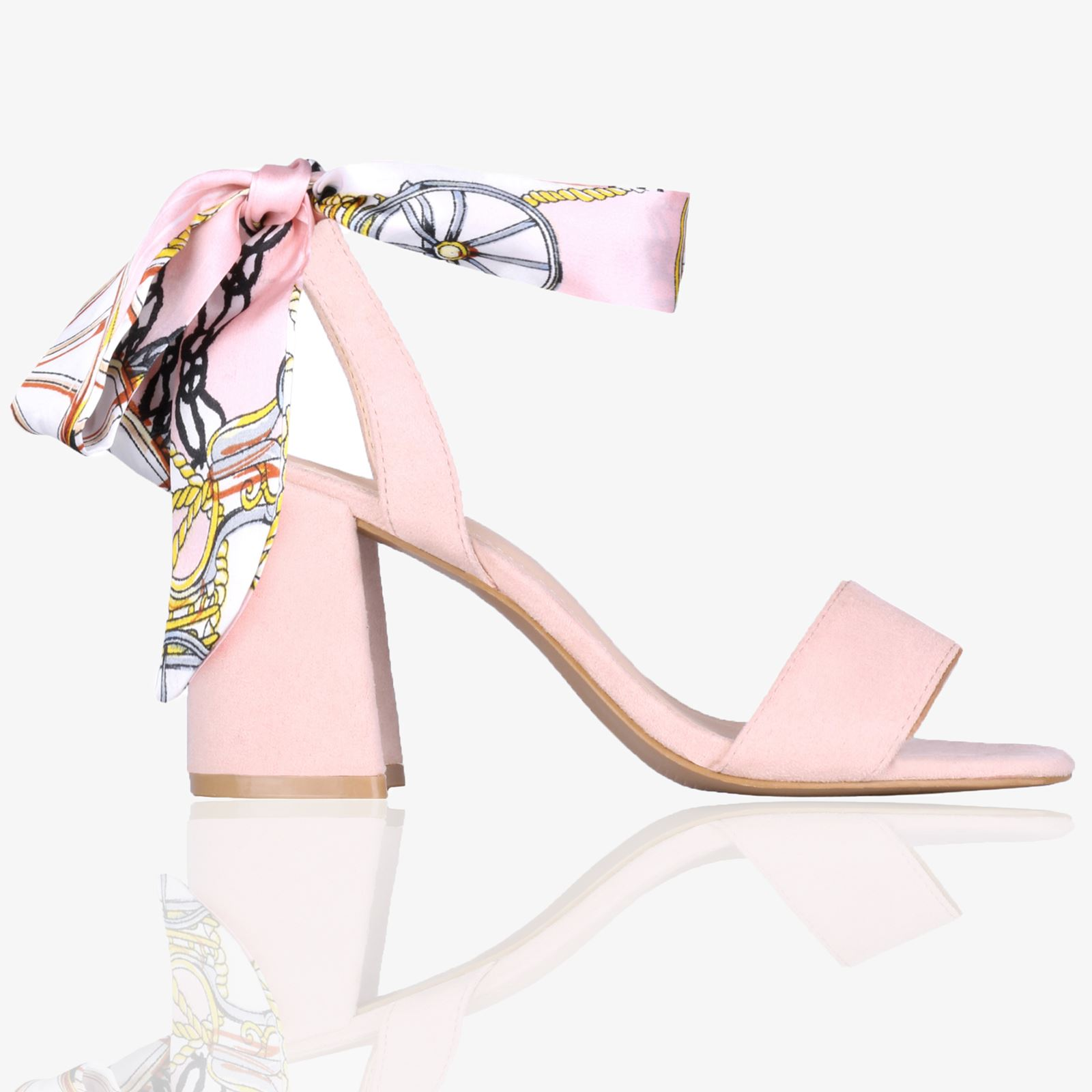 Womans-Ladies-Satin-Ankle-Wrap-Mid-Block-Heel-Open-Toe-Sandals-Summer-Shoes-3-8