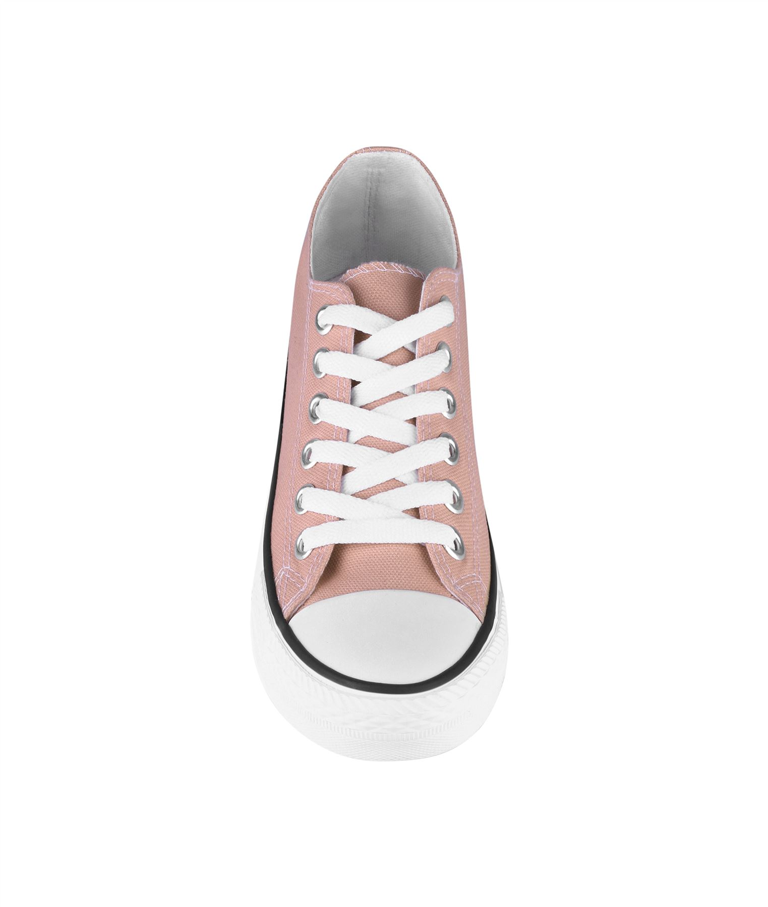 Zapatillas-Mujer-Casuales-Deportiva-Barata-Lona-Moda-Originales-Outlet-Tela-Moda miniatura 43