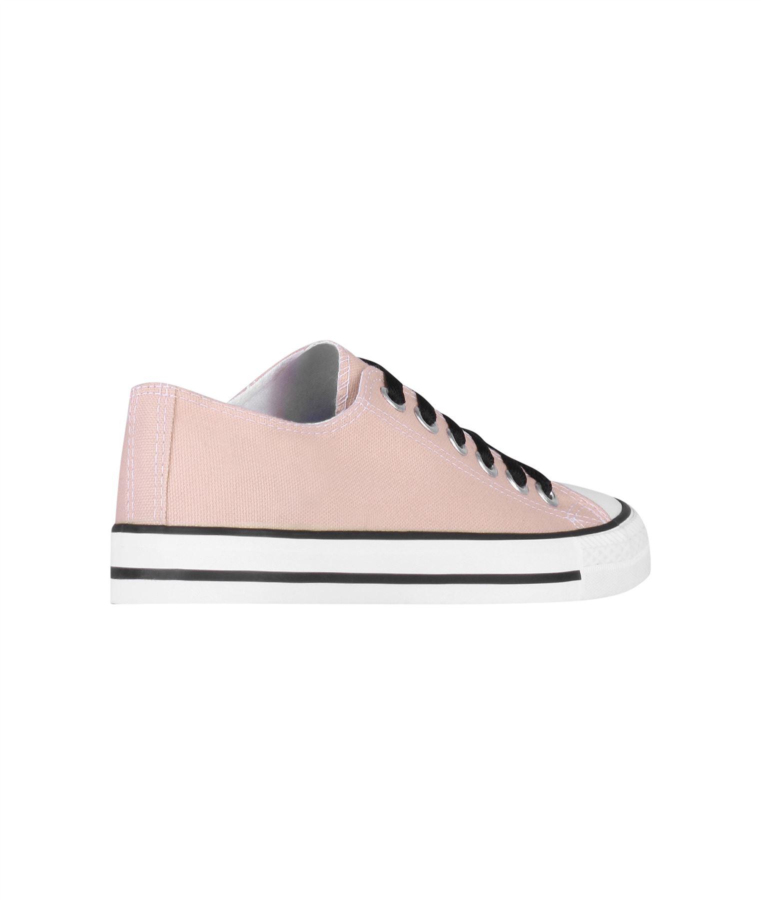 Zapatillas-Mujer-Casuales-Deportiva-Barata-Lona-Moda-Originales-Outlet-Tela-Moda miniatura 49