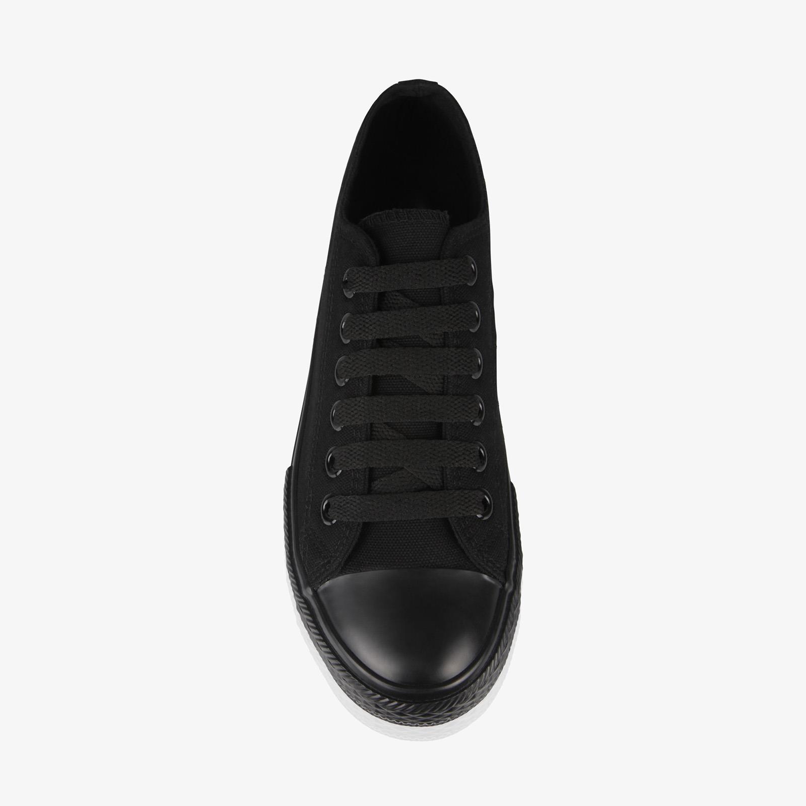 Zapatillas-Mujer-Casuales-Deportiva-Barata-Lona-Moda-Originales-Outlet-Tela-Moda miniatura 29