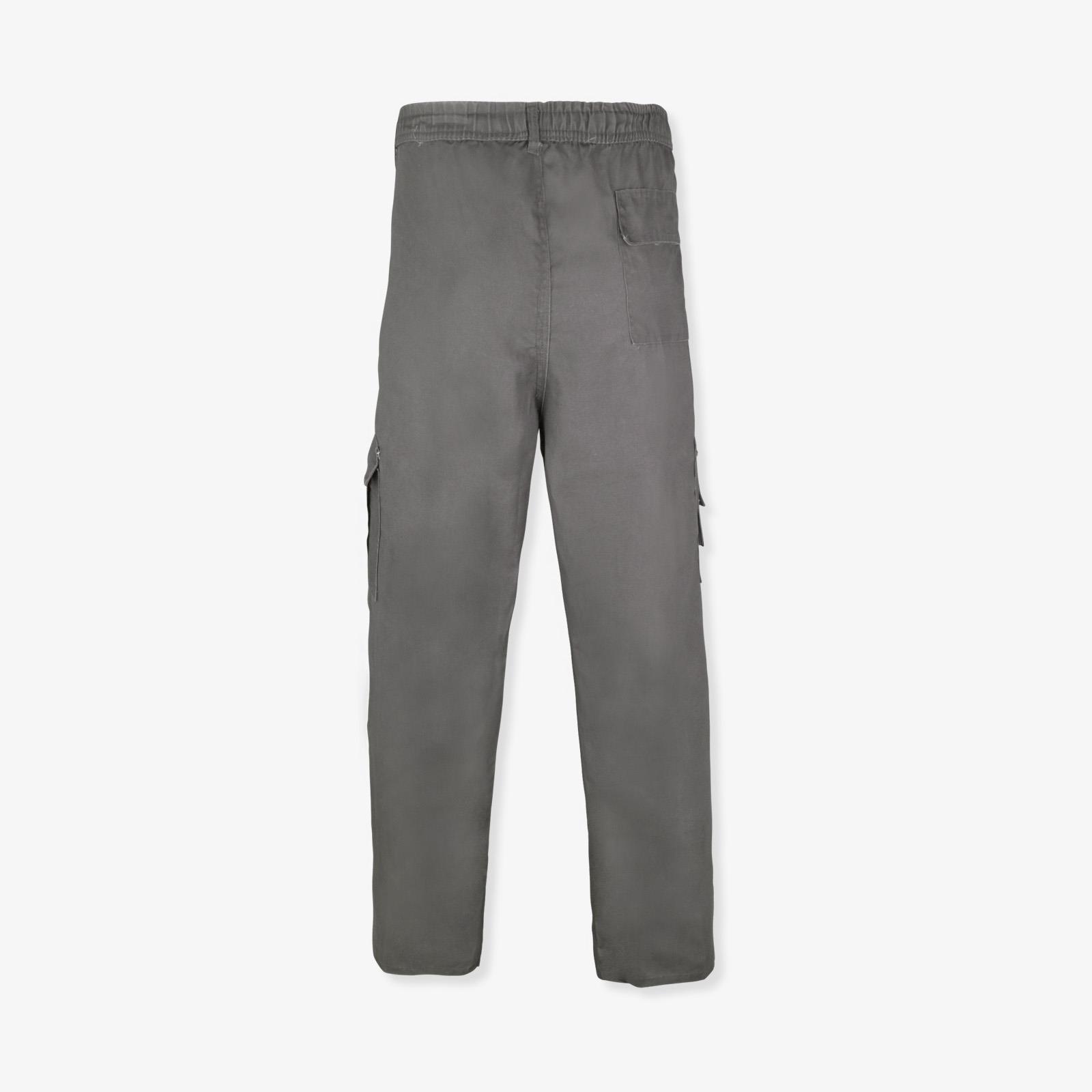 Pantalon-Homme-Cargo-Militaire-Ample-Poche-Grande-Taille-Elastique-Travail miniature 9