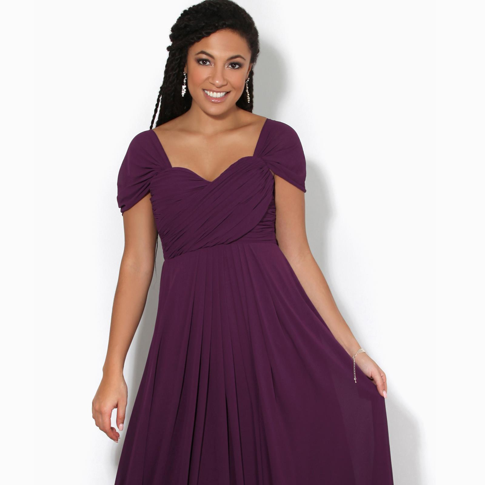 Womens-Formal-Evening-Wedding-Maxi-Prom-Dress-Long-On-Off-Shoulder-Ball-Gown thumbnail 11