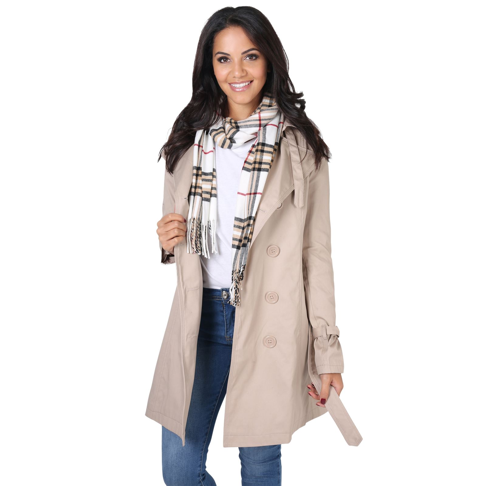 Womens-Stylish-Retro-Tailored-Trench-Mac-Coat-Double-Breasted-Jacket-Autumn-8-18