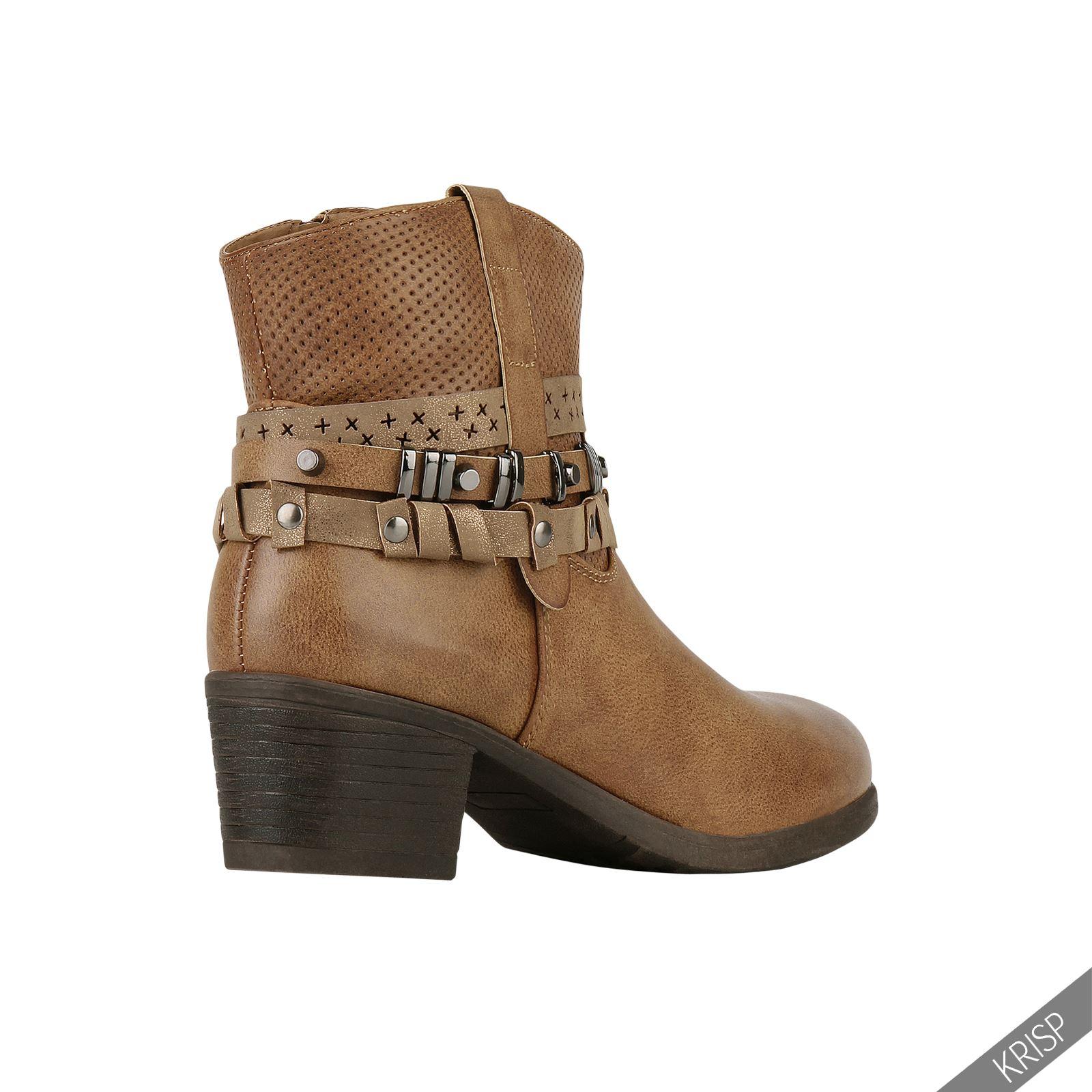 damen wildleder chealsea schuhe nieten design ankle boots. Black Bedroom Furniture Sets. Home Design Ideas