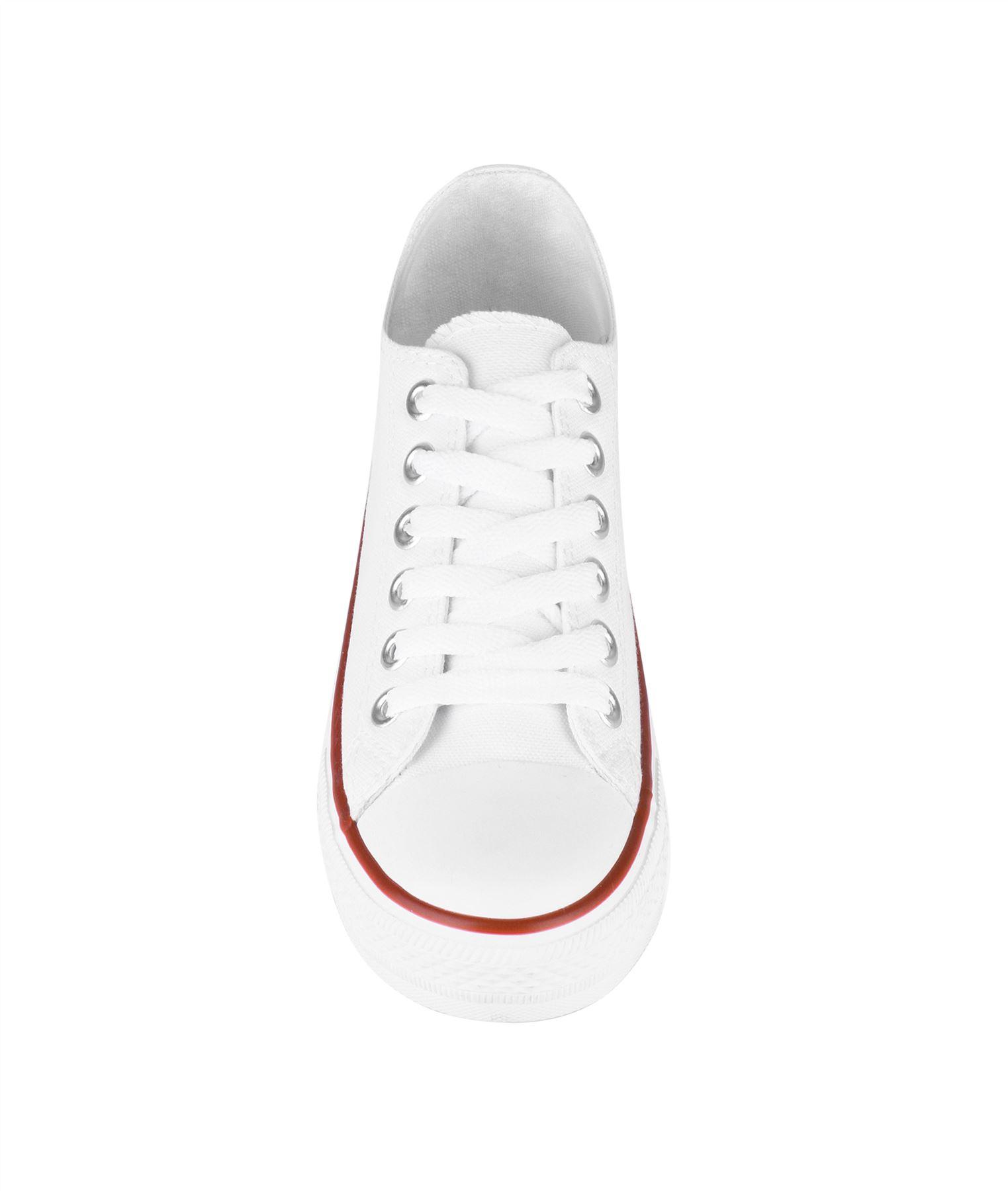 Zapatillas-Mujer-Casuales-Deportiva-Barata-Lona-Moda-Originales-Outlet-Tela-Moda miniatura 9