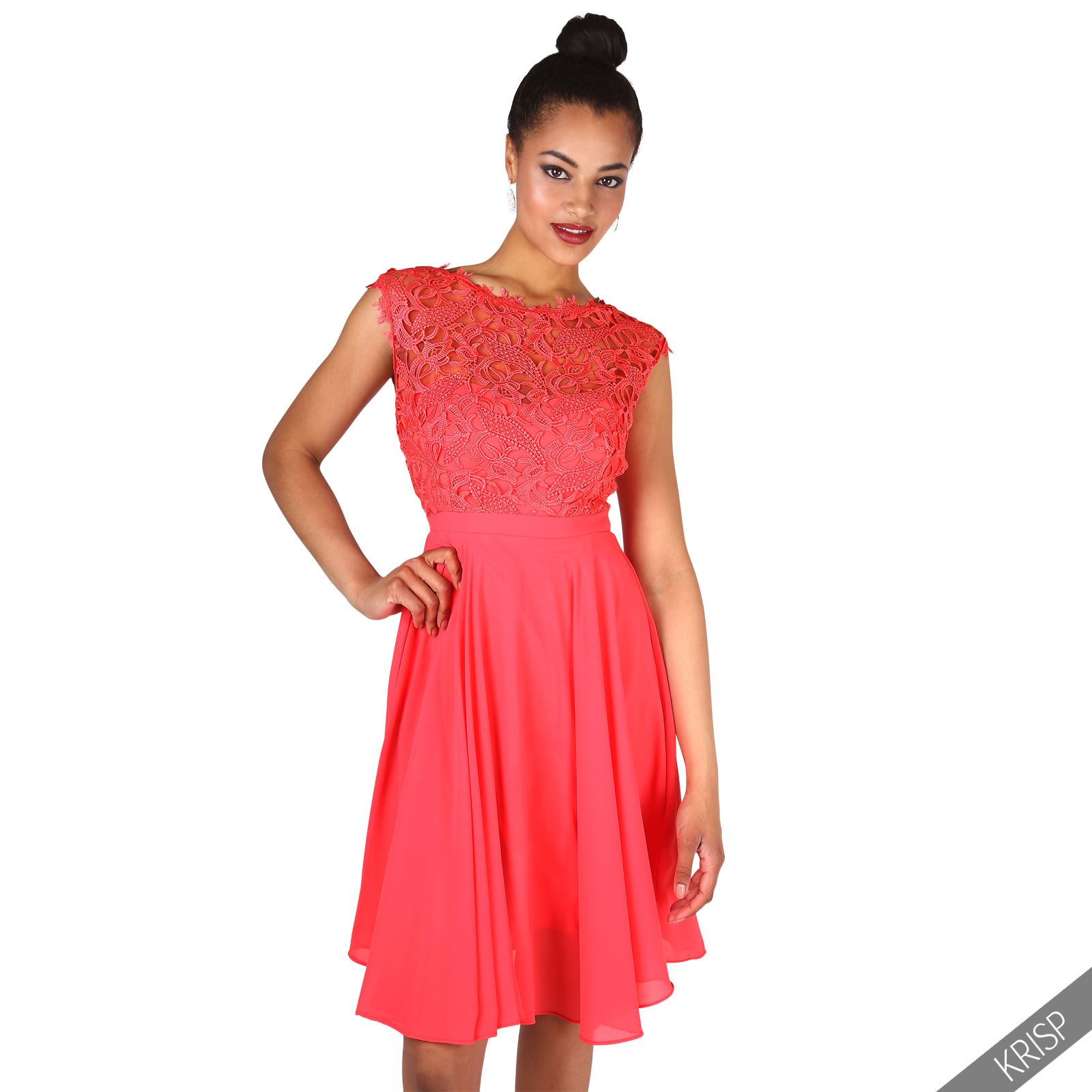 Womens Vintage Short Evening Ball Gown Party Wedding Knee Long Prom ...