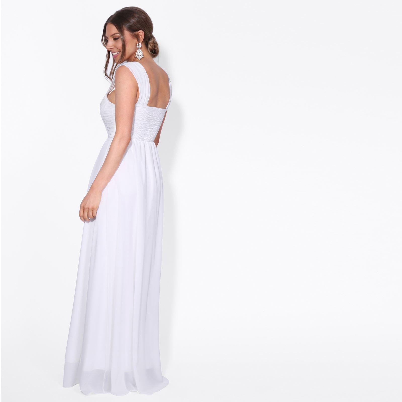 Womens-Elegant-Evening-One-Shoulder-Maxi-Bridal-Prom-Dress-Cocktail-Wedding-8-18