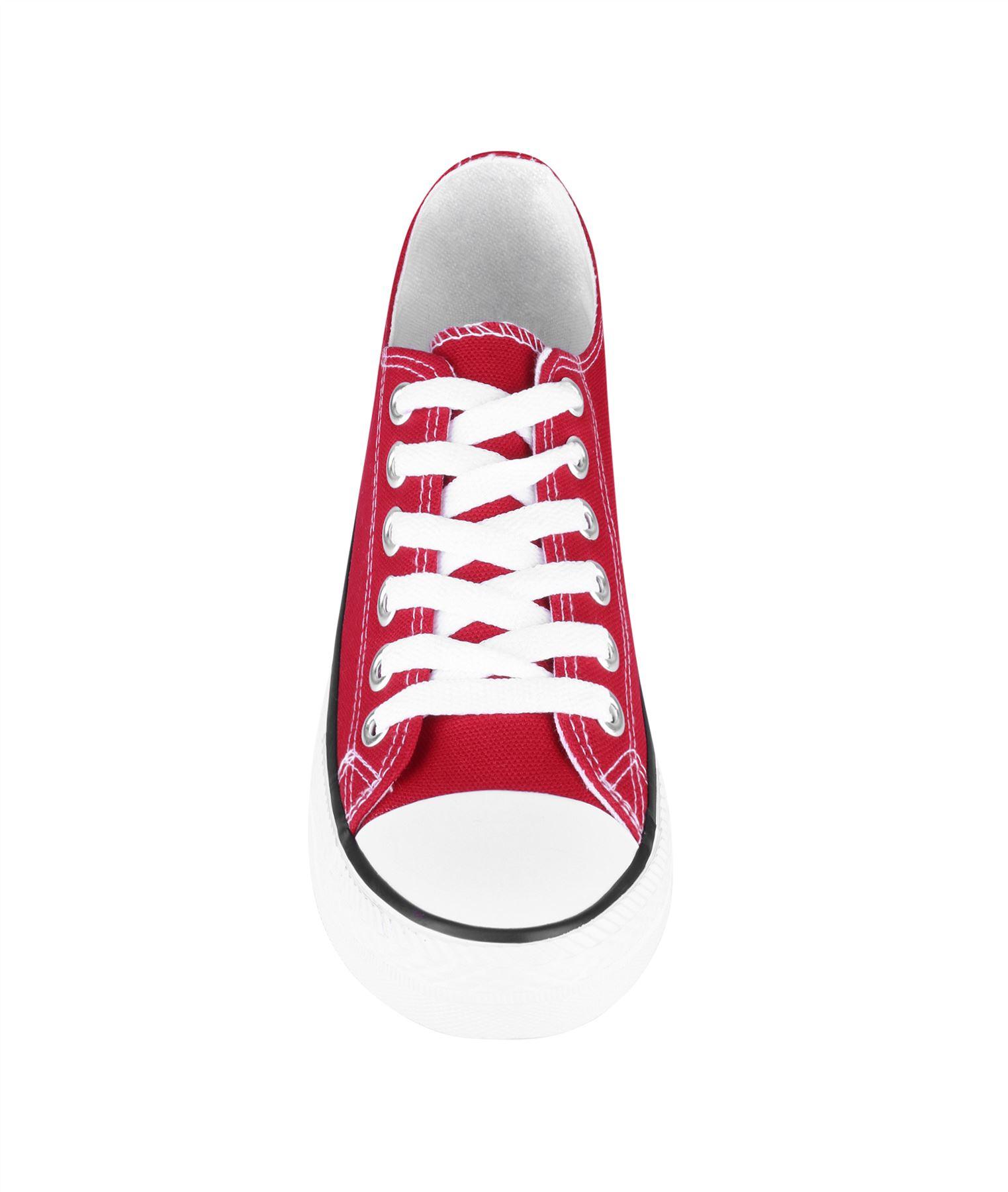 Zapatillas-Mujer-Casuales-Deportiva-Barata-Lona-Moda-Originales-Outlet-Tela-Moda miniatura 38