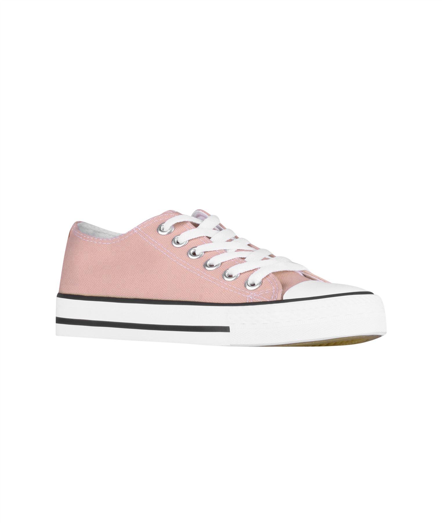 Zapatillas-Mujer-Casuales-Deportiva-Barata-Lona-Moda-Originales-Outlet-Tela-Moda miniatura 42