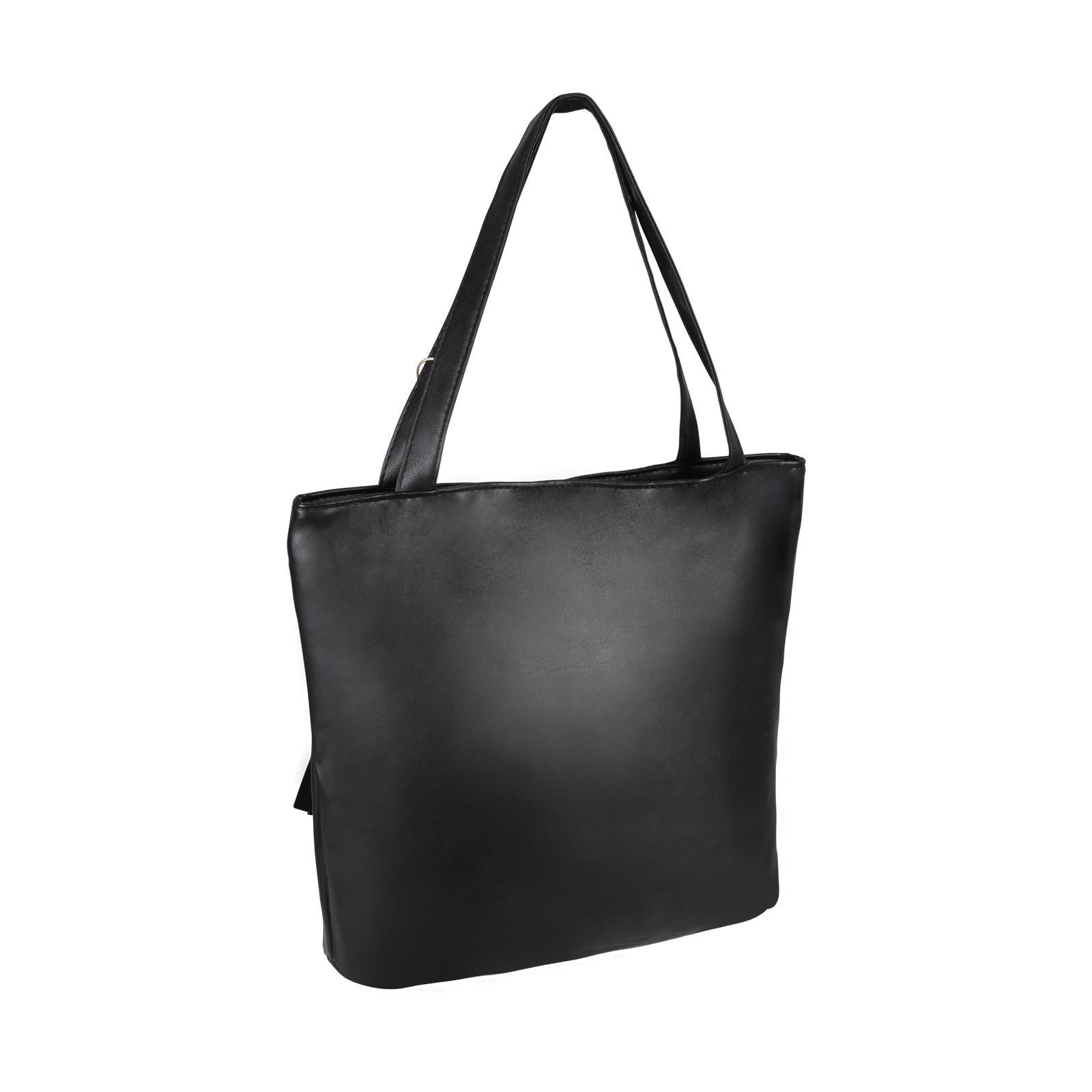 Animal-Print-Handbag-PU-Leather-Shoulder-Bag-Work-Office-Tote-Shopper-Fashion thumbnail 4