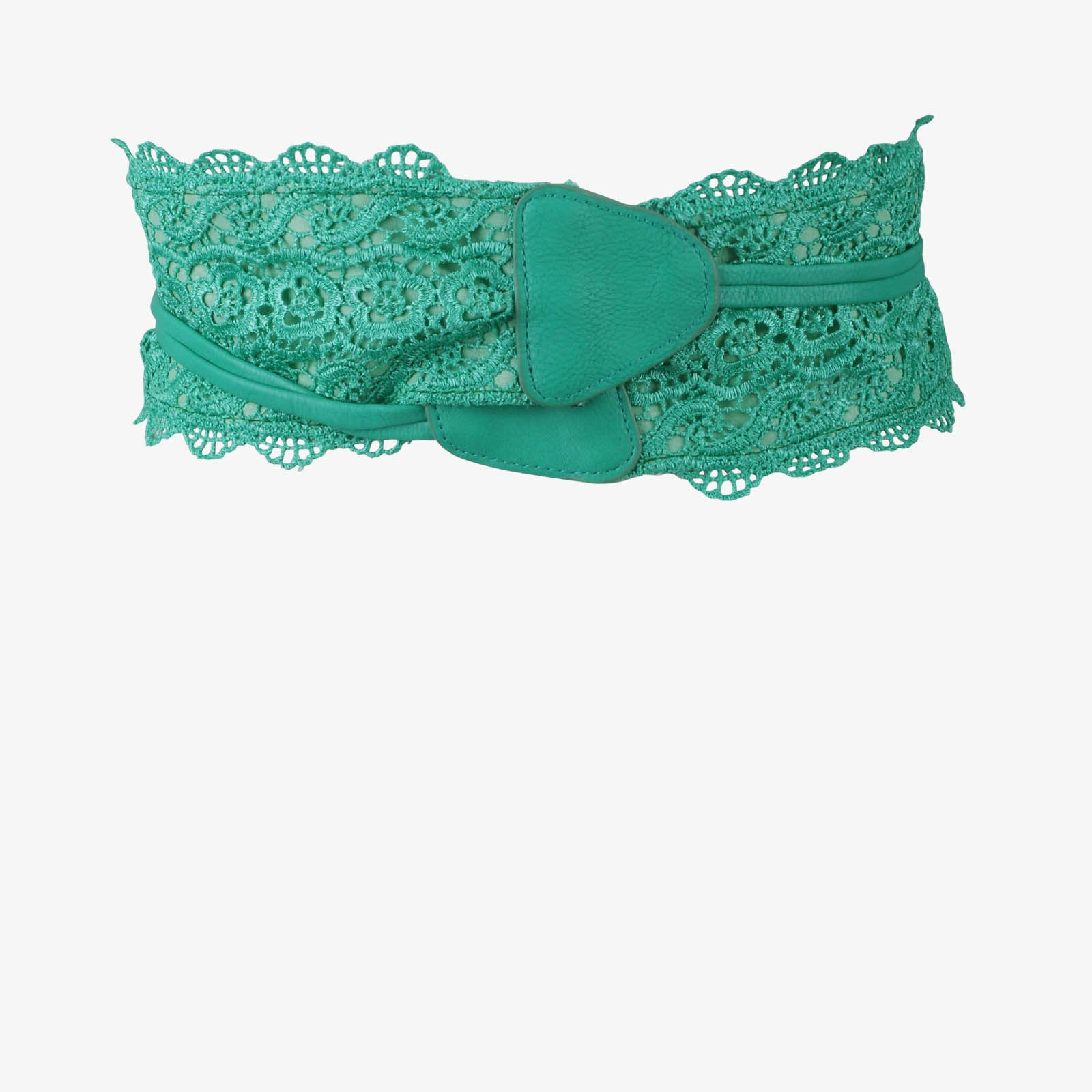 thumbnail 27 - Womens-Ladies-Wide-Waist-Belt-Floral-Waistband-Pattern-Band-Crochet-Lace-Corset