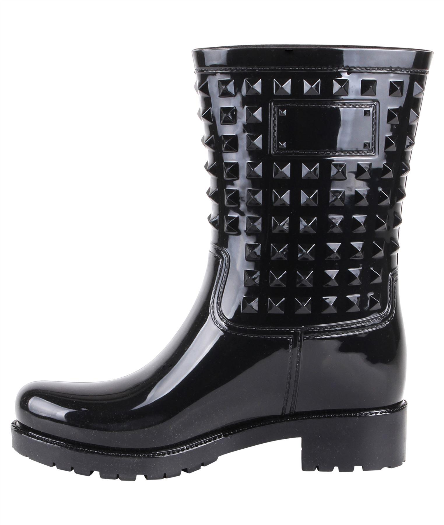 Botas-Agua-Mujer-Barata-Original-Botines-Moda-Comodas-Calzado-Elastico-Juveniles miniatura 27