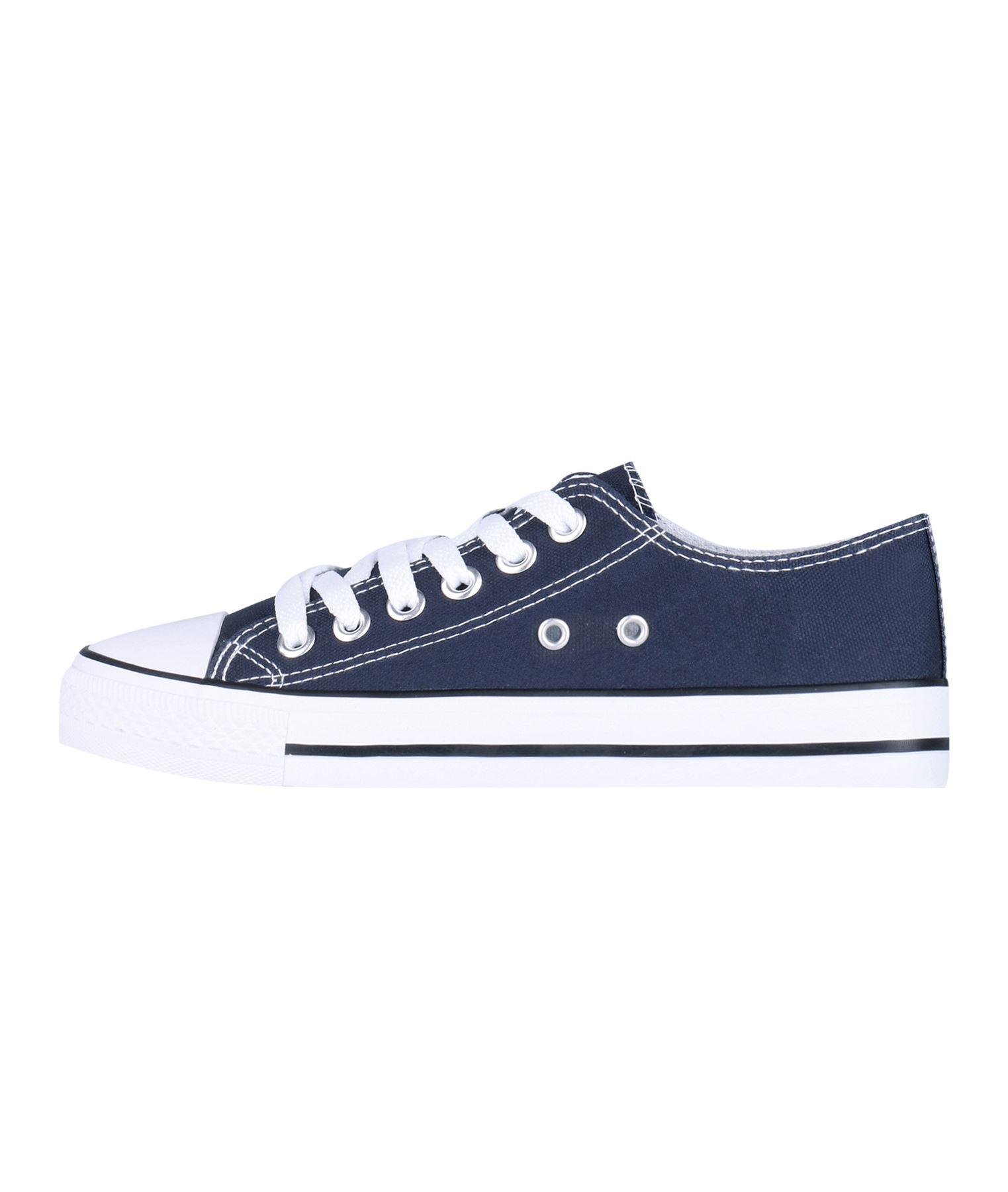 Zapatillas-Mujer-Casuales-Deportiva-Barata-Lona-Moda-Originales-Outlet-Tela-Moda miniatura 6