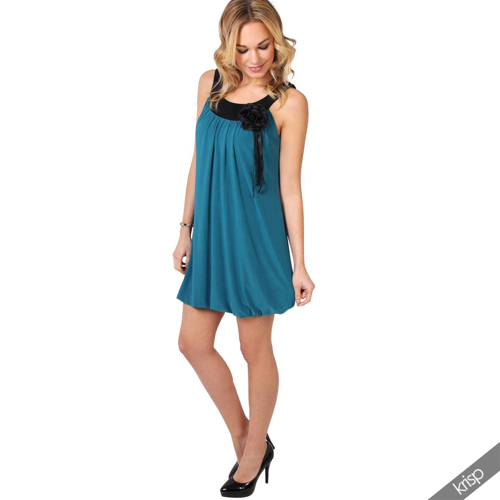 Femmes robe mini courte tunique r tro vintage broche fleurs pliss e ann es 20 39 ebay - Robe vintage annee 20 ...