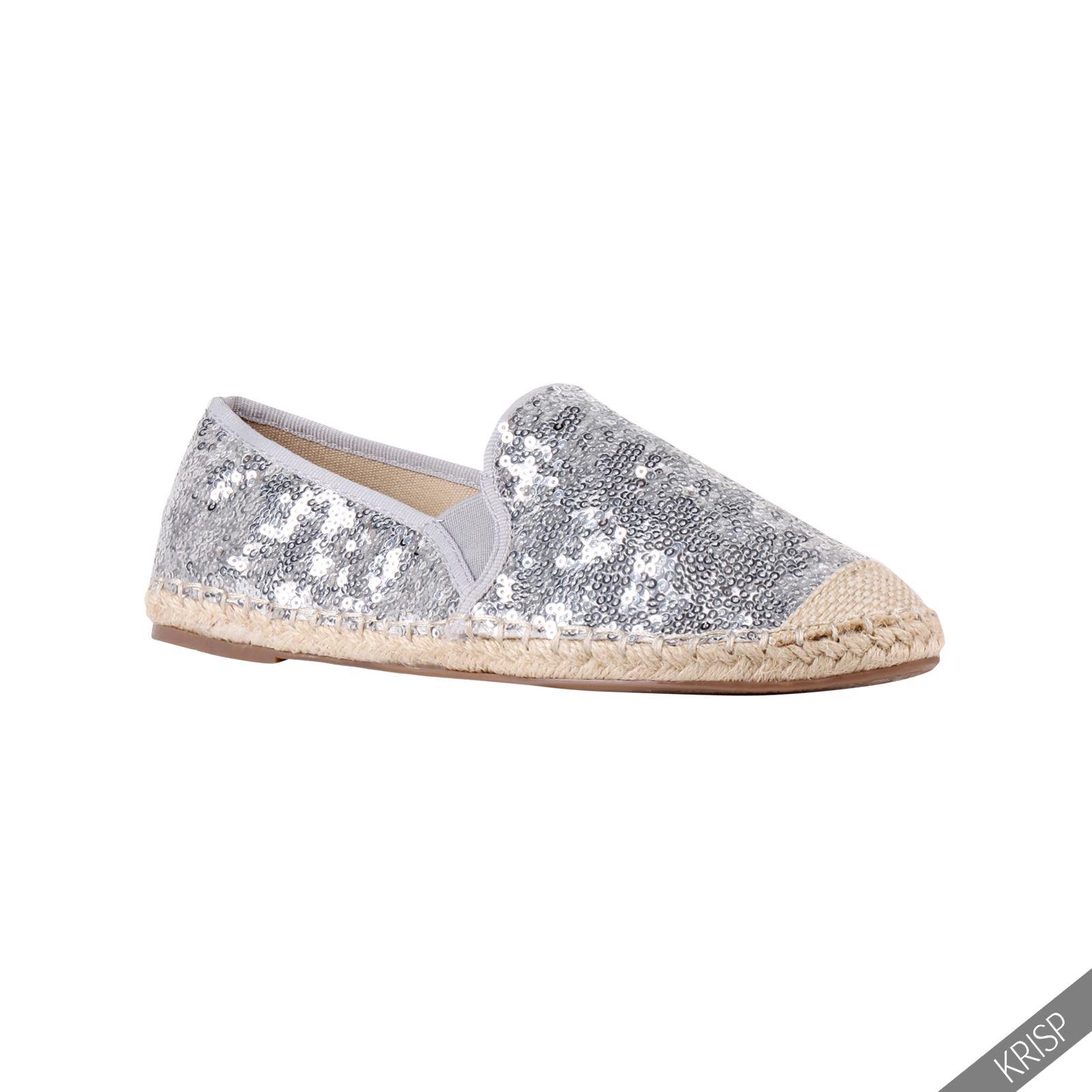 Womens Glitter Pu Shoes Uk