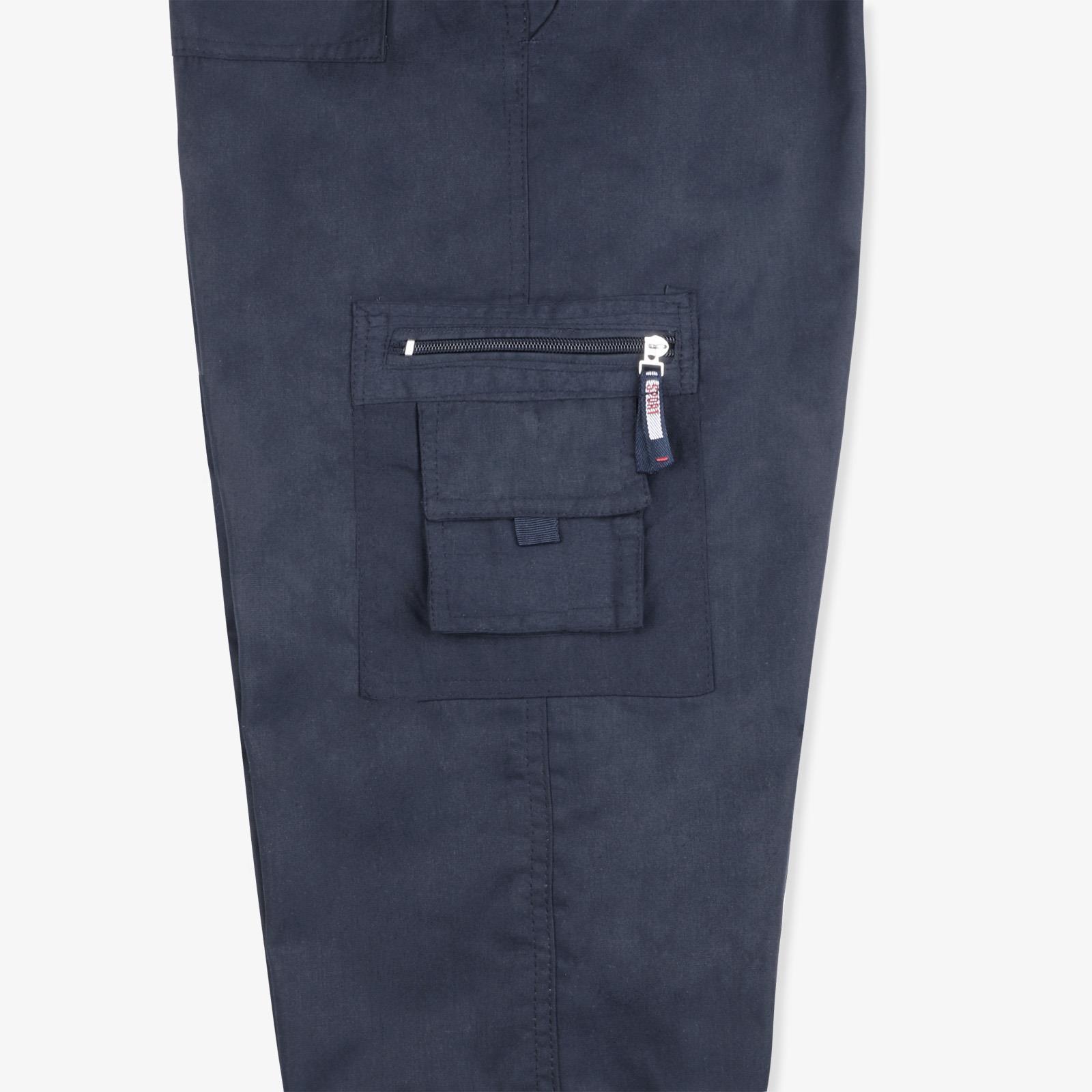 Pantalon-Homme-Cargo-Militaire-Ample-Poche-Grande-Taille-Elastique-Travail miniature 3