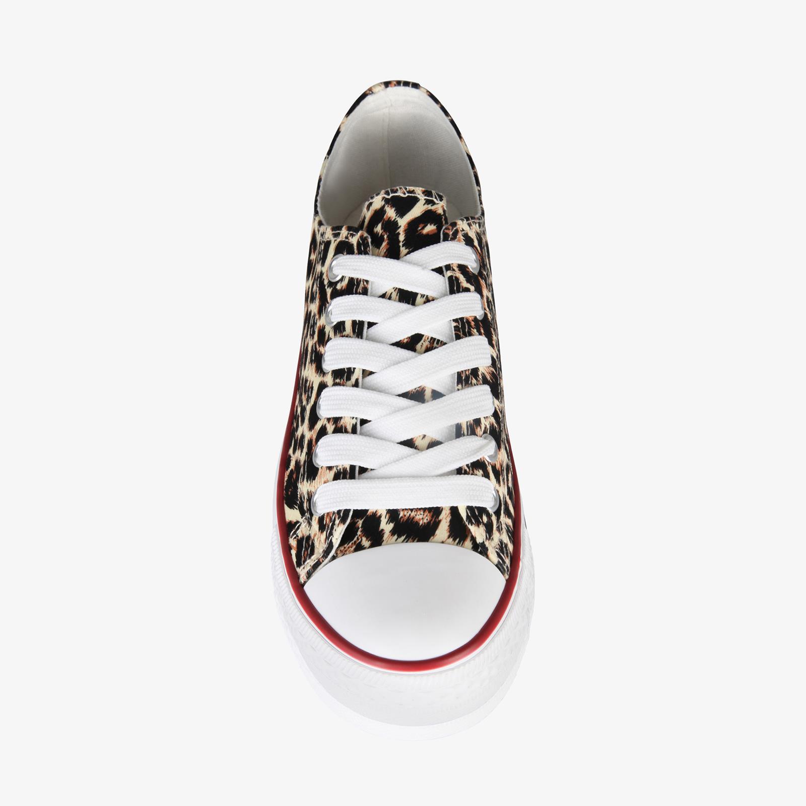 Zapatillas-Mujer-Casuales-Deportiva-Barata-Lona-Moda-Originales-Outlet-Tela-Moda miniatura 24