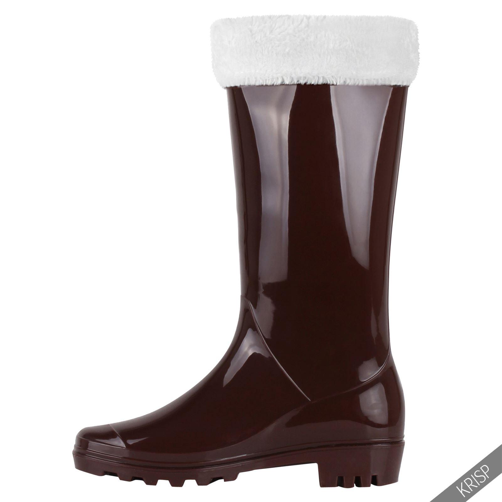 Botas-Agua-Mujer-Barata-Original-Botines-Moda-Comodas-Calzado-Elastico-Juveniles miniatura 20