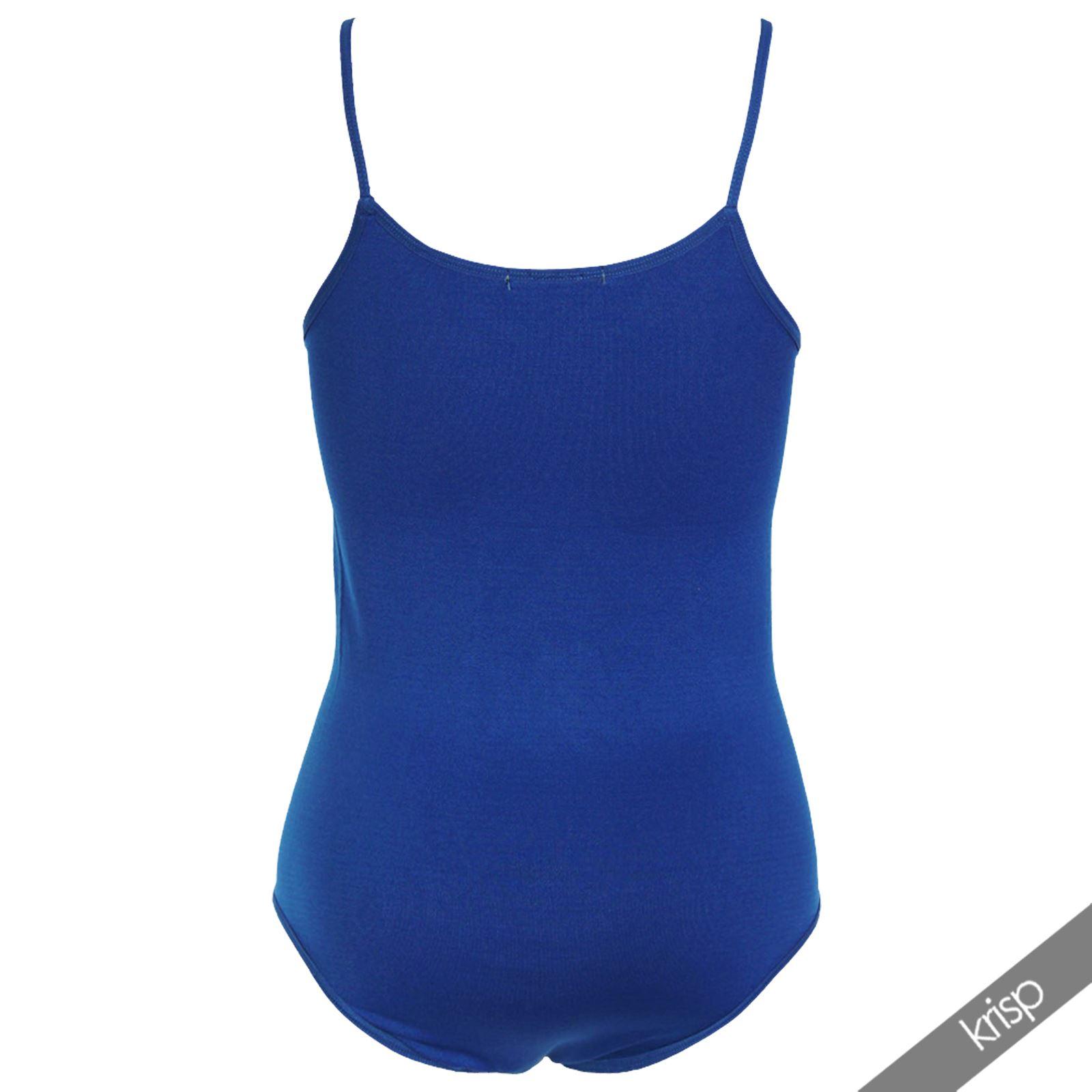 Body-Mujer-Basico-Invierno-Cuello-Barato-Top-Camiseta-Ajustado-Tirantes-Elastico miniatura 21
