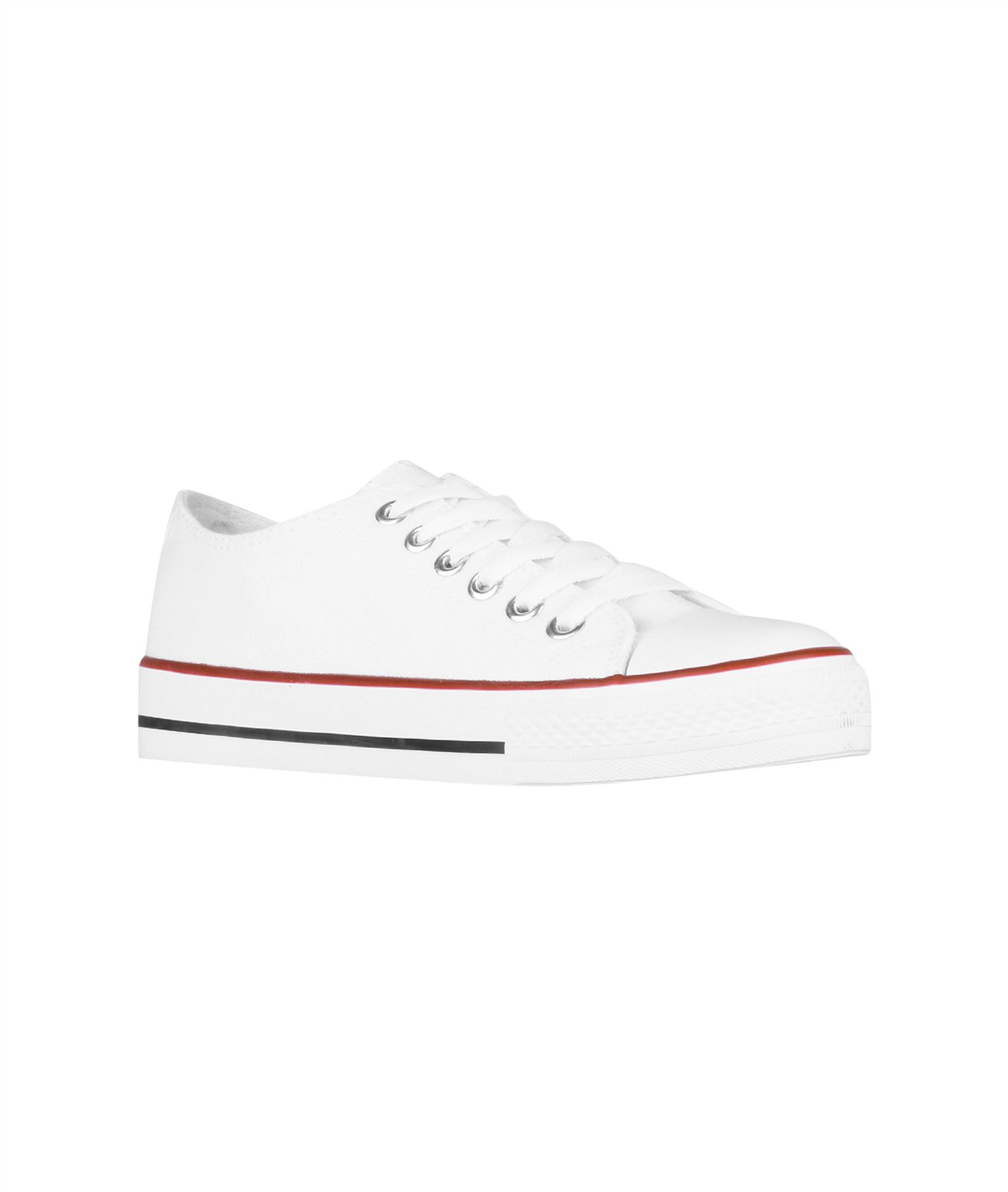 Zapatillas-Mujer-Casuales-Deportiva-Barata-Lona-Moda-Originales-Outlet-Tela-Moda miniatura 8