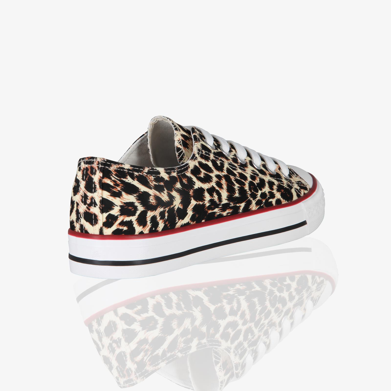 Zapatillas-Mujer-Casuales-Deportiva-Barata-Lona-Moda-Originales-Outlet-Tela-Moda miniatura 25