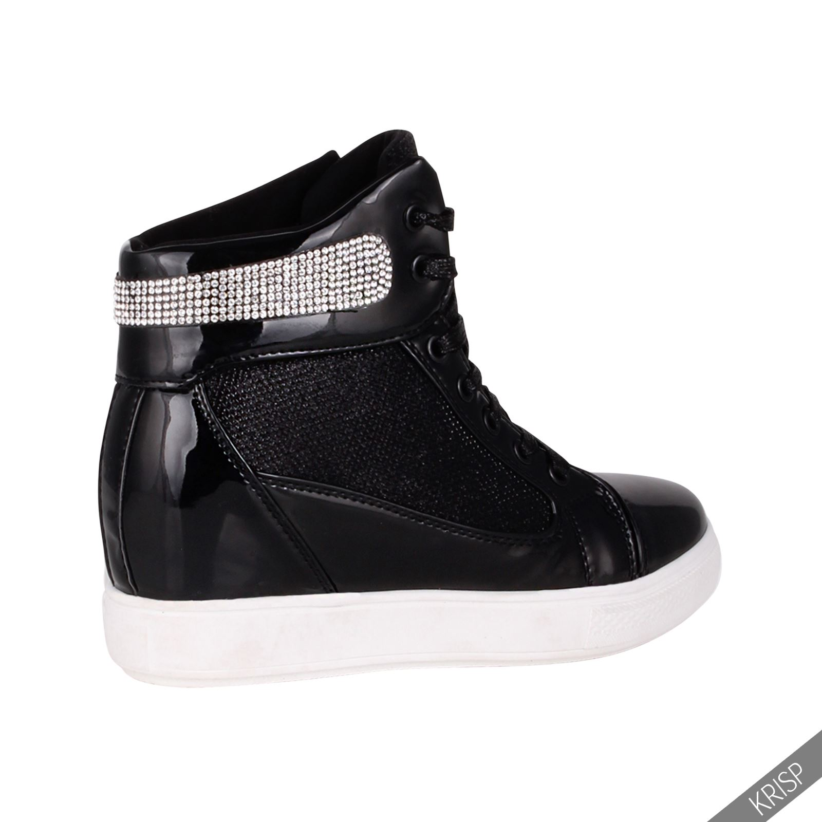 Studded Wedge Tennis Shoes