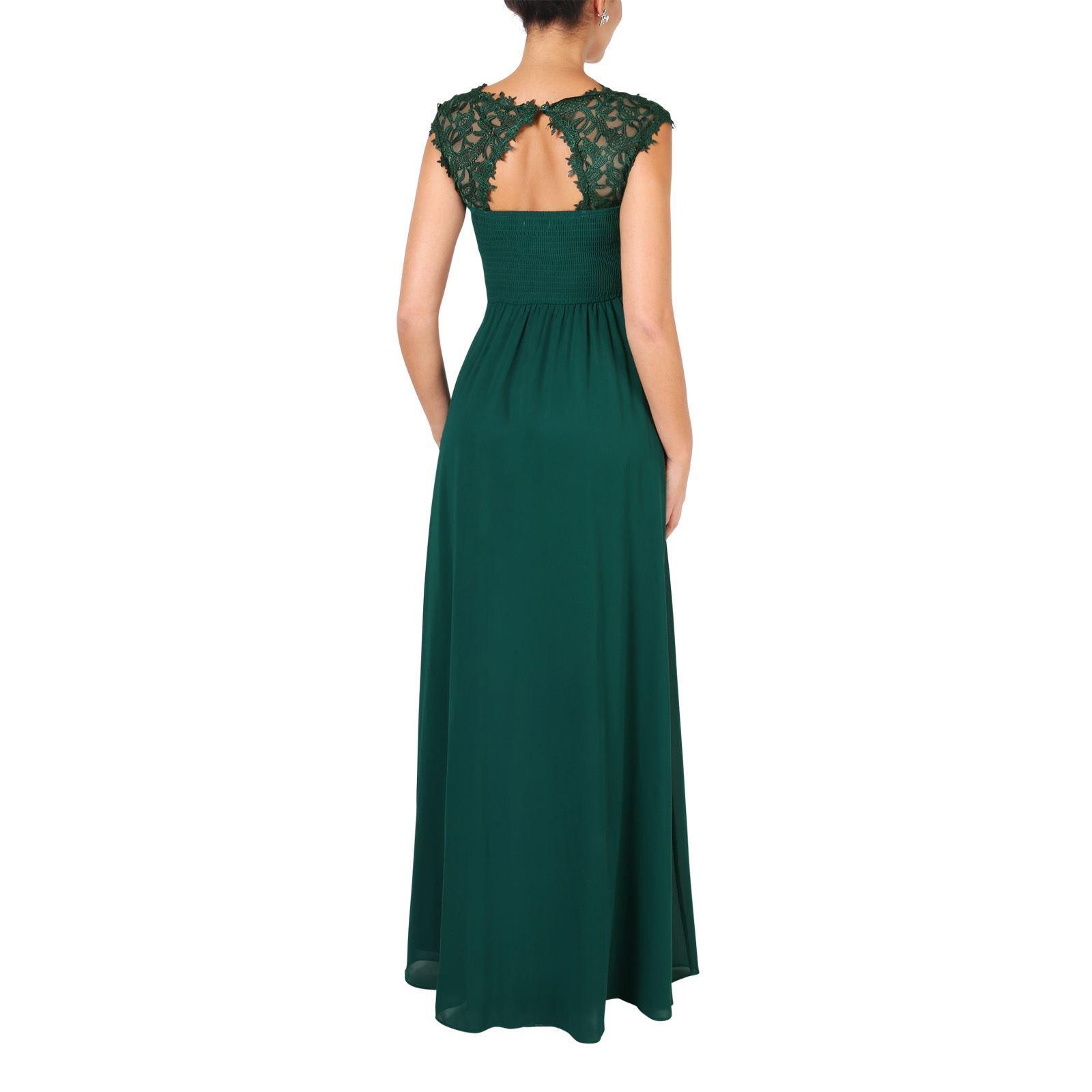 Womens-Wedding-Bridesmaid-Prom-Dress-Formal-One-Off-Shoulder-Long-Evening-8-18 thumbnail 17