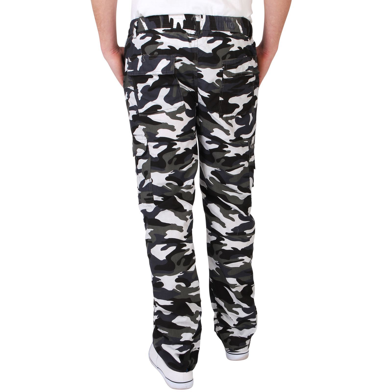 Mens-Combat-Military-Army-Camouflage-Cargo-Camo-Trousers-Pants-Casual-Work-Sizes thumbnail 12