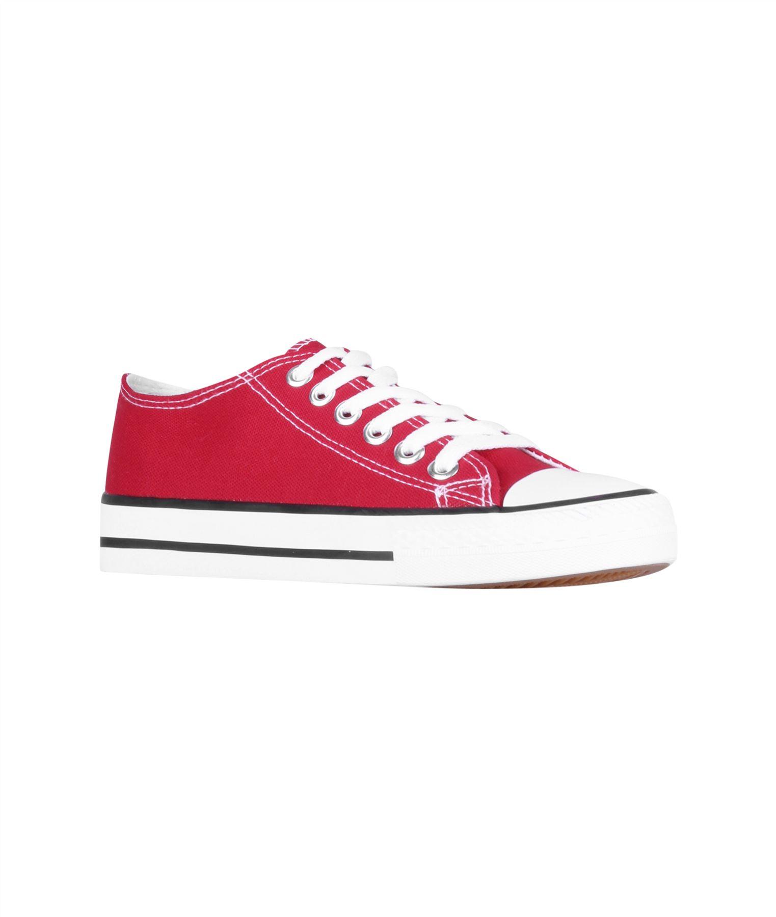 Zapatillas-Mujer-Casuales-Deportiva-Barata-Lona-Moda-Originales-Outlet-Tela-Moda miniatura 37